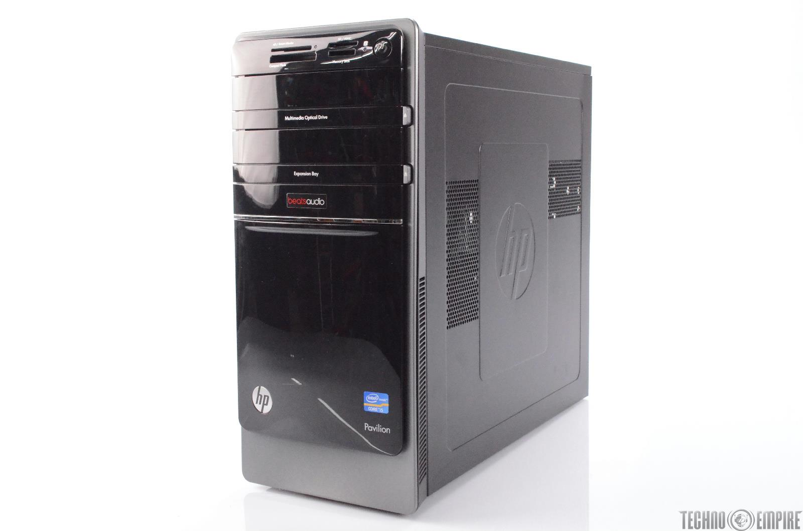 HP Pavilion Intel Core i5 Beats Audio Desktop Computer ...