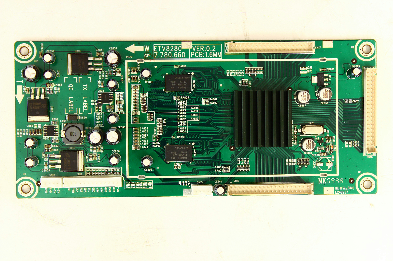 Sceptre X460bv F120 Circuit Board Etv8280 Tvparts At Tvpartsinstock How Do You Make A