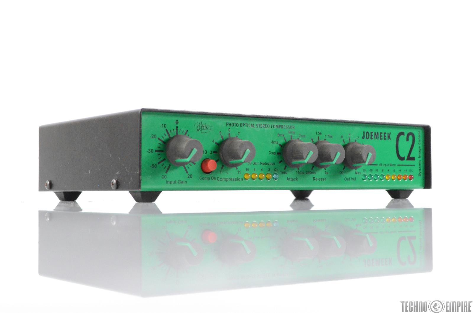 JoeMeek C2 Photo Optical Stereo Compressor Dynamic Image Control #29745