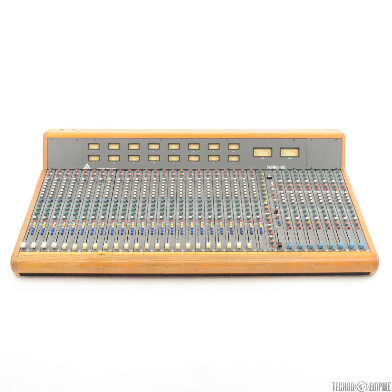 Trident Series 65 24x8x16 24 Channel Recording Mixer Console w/ PSU #29231