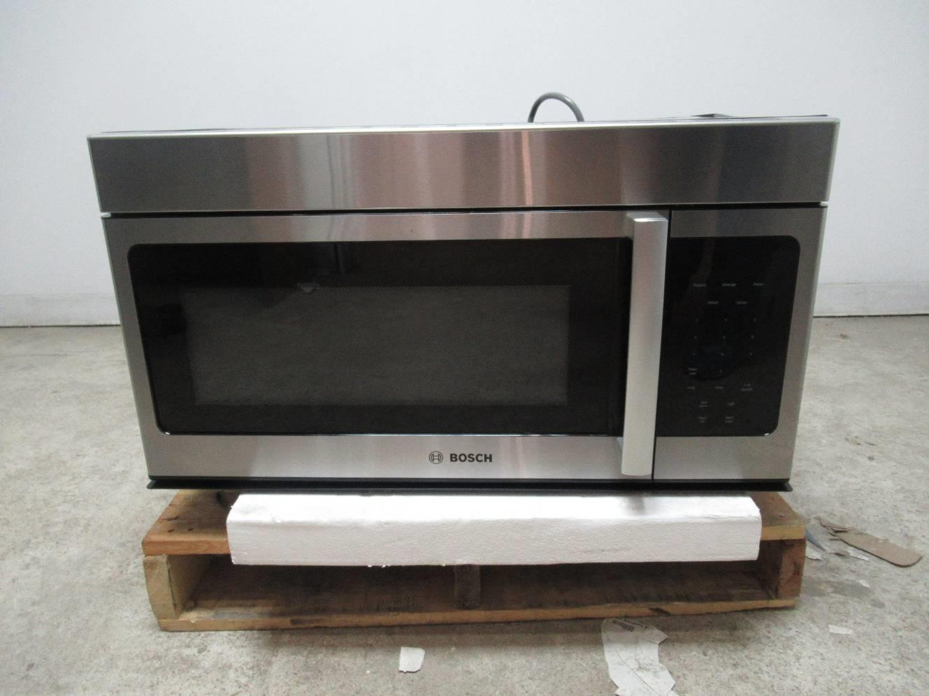 Bosch 300 Hmv3053u 30 Cfm Ventilation Over The Range Microwave Oven Details