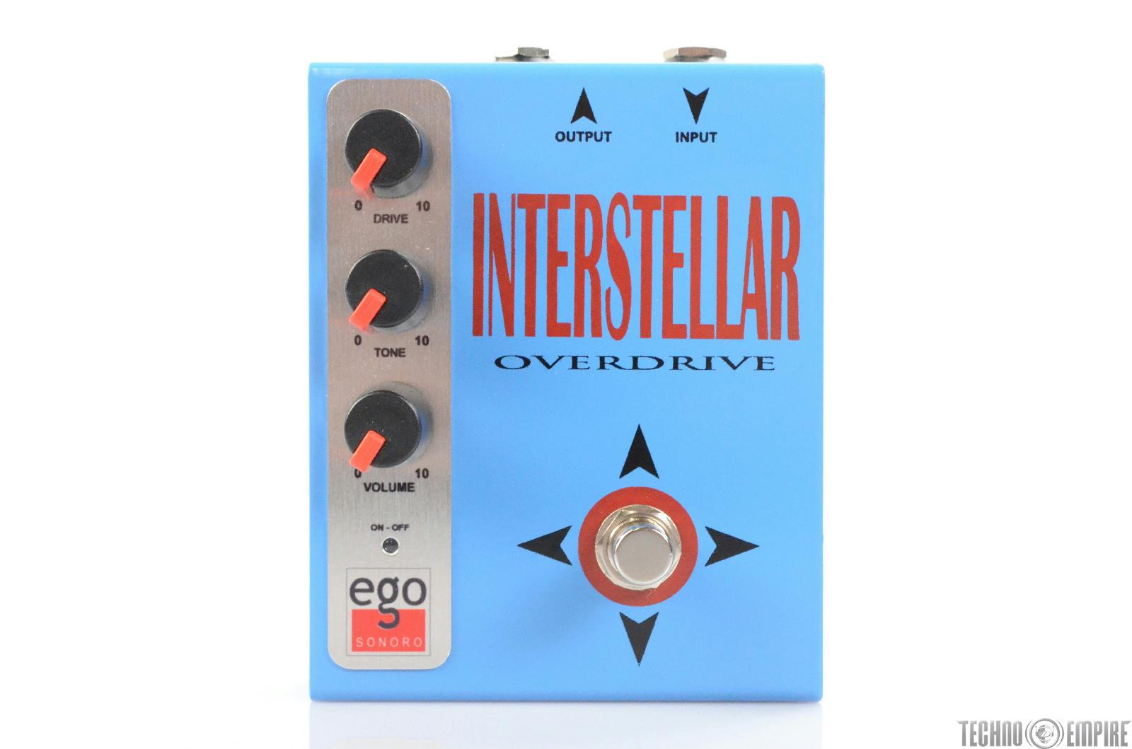 Ego Sonoro Interstellar Overdrive OD Guitar Effect Pedal w/ Box & Manual #29962