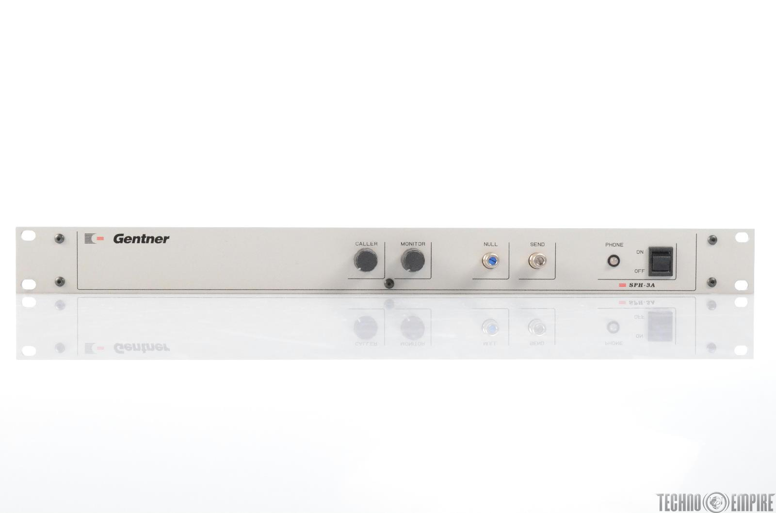 Gentner SPH-3A Broadcast Hybrid Phone Line Audio Console Mixer Interface #29492