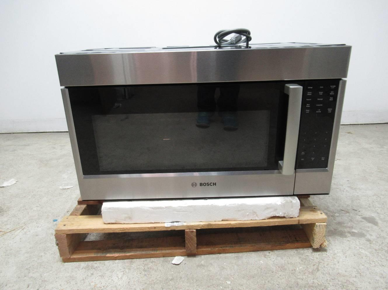Bosch 800 30 1 8 Cu Ft Over The Range Convection Microwave Hmv8053u Images