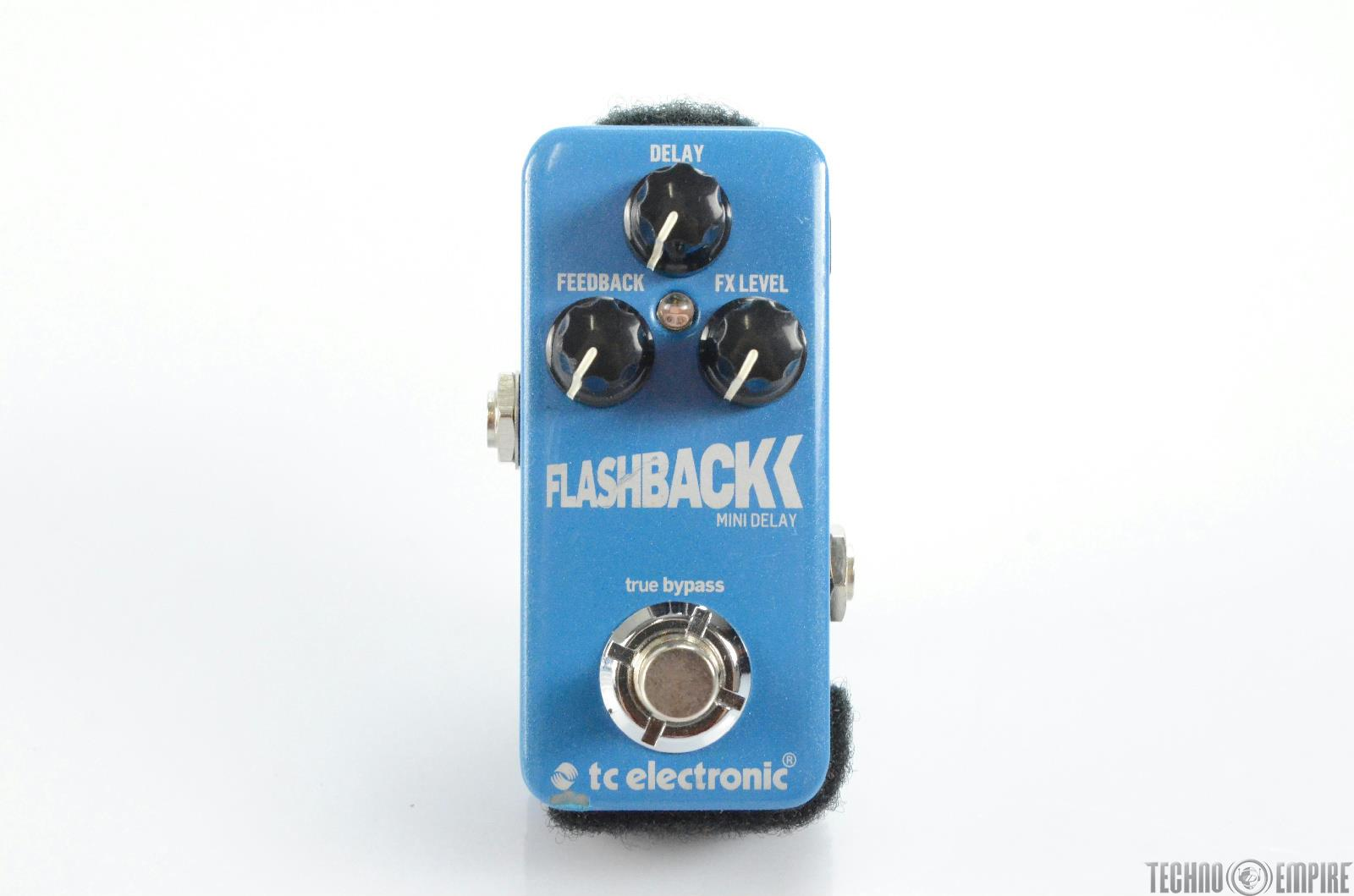 TC Electronic Flashback Mini Delay Pedal w/ Dimmable Pedalboard Light #29969