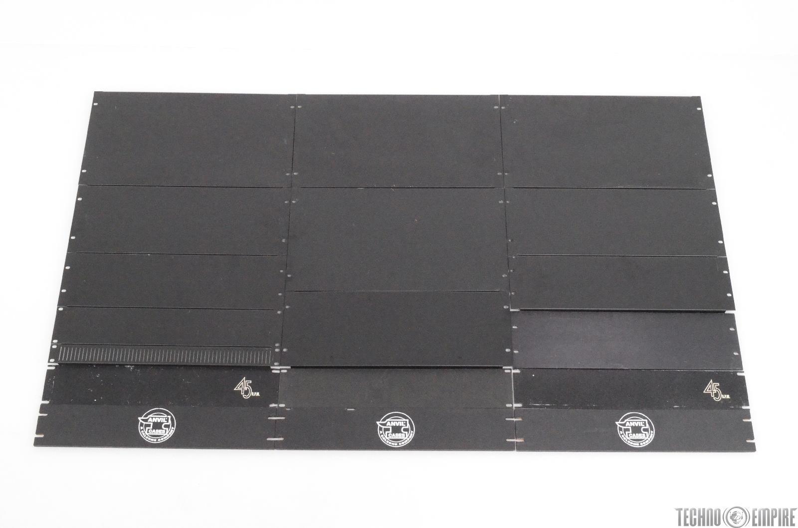 18 Blank Spacers Rack Mount Filler Panels Middle Atlantic 1U 2U 3U 4U 6U #29475