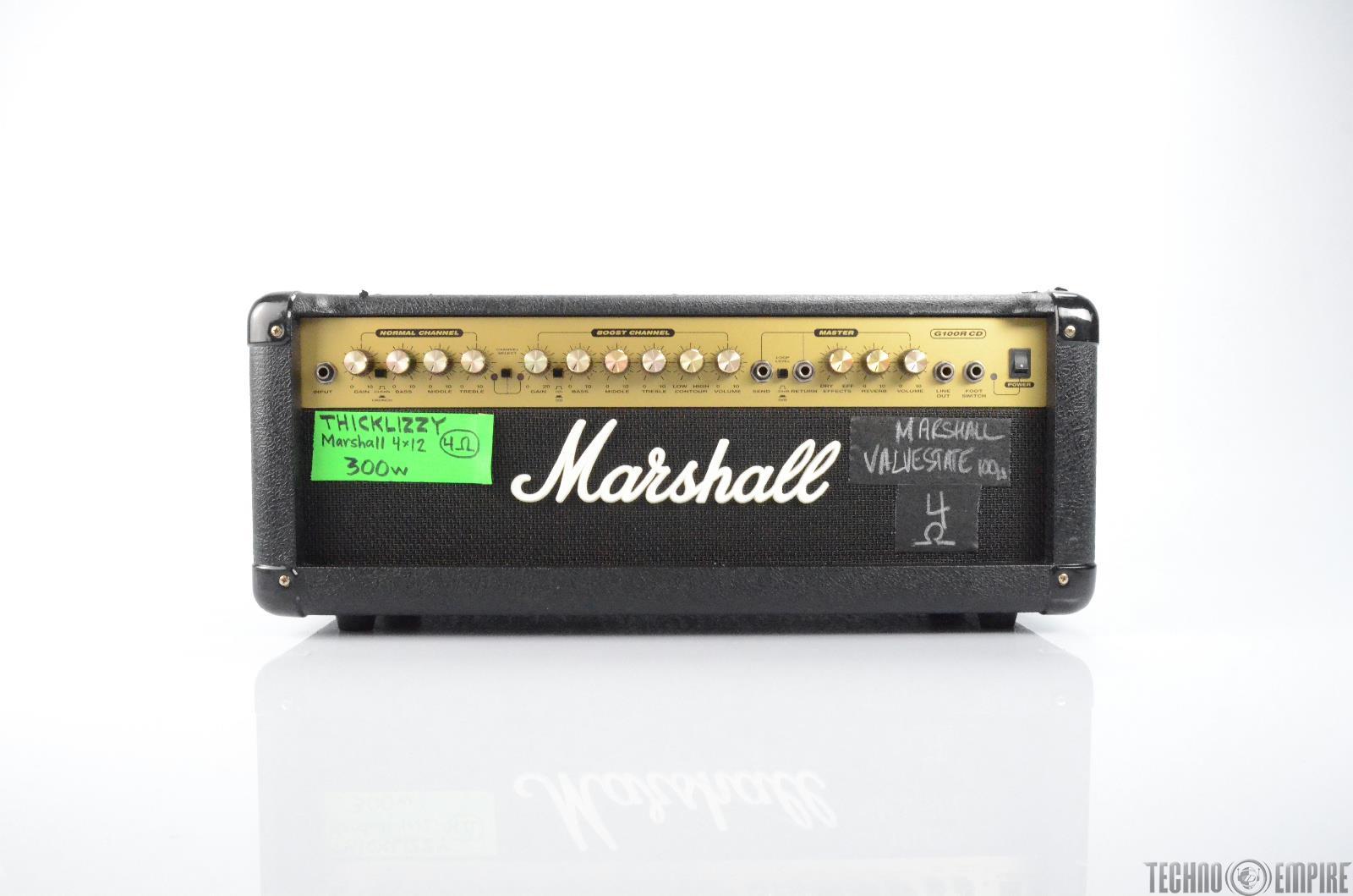 Marshall G100R CD Valvestate 100W Amp Guitar Head Owned by Matt Hyde #30108