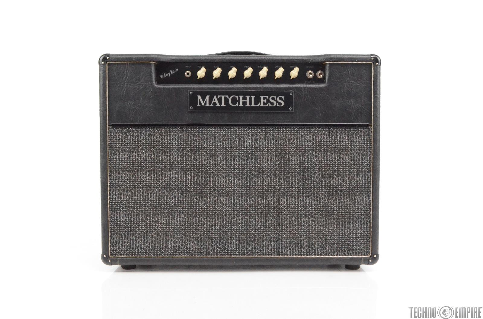 1995 Matchless Chieftain 40 Watt 2x12 Guitar Amplifier Owned by Matt Hyde #30015