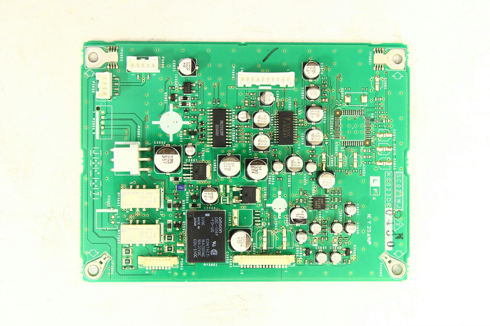 Sharp Lc 37hv6u Circuit Board Duntkc023de04 Tvparts At How Do You Make A