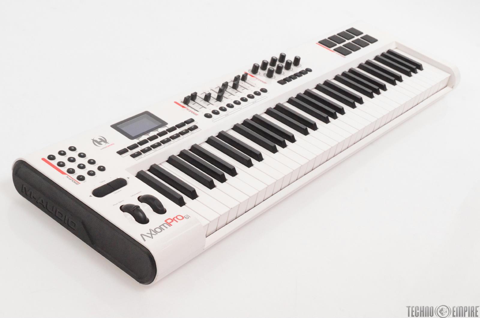 m audio axiom pro 61 key usb midi keyboard controller wei braucht reparatur 29224 ebay. Black Bedroom Furniture Sets. Home Design Ideas