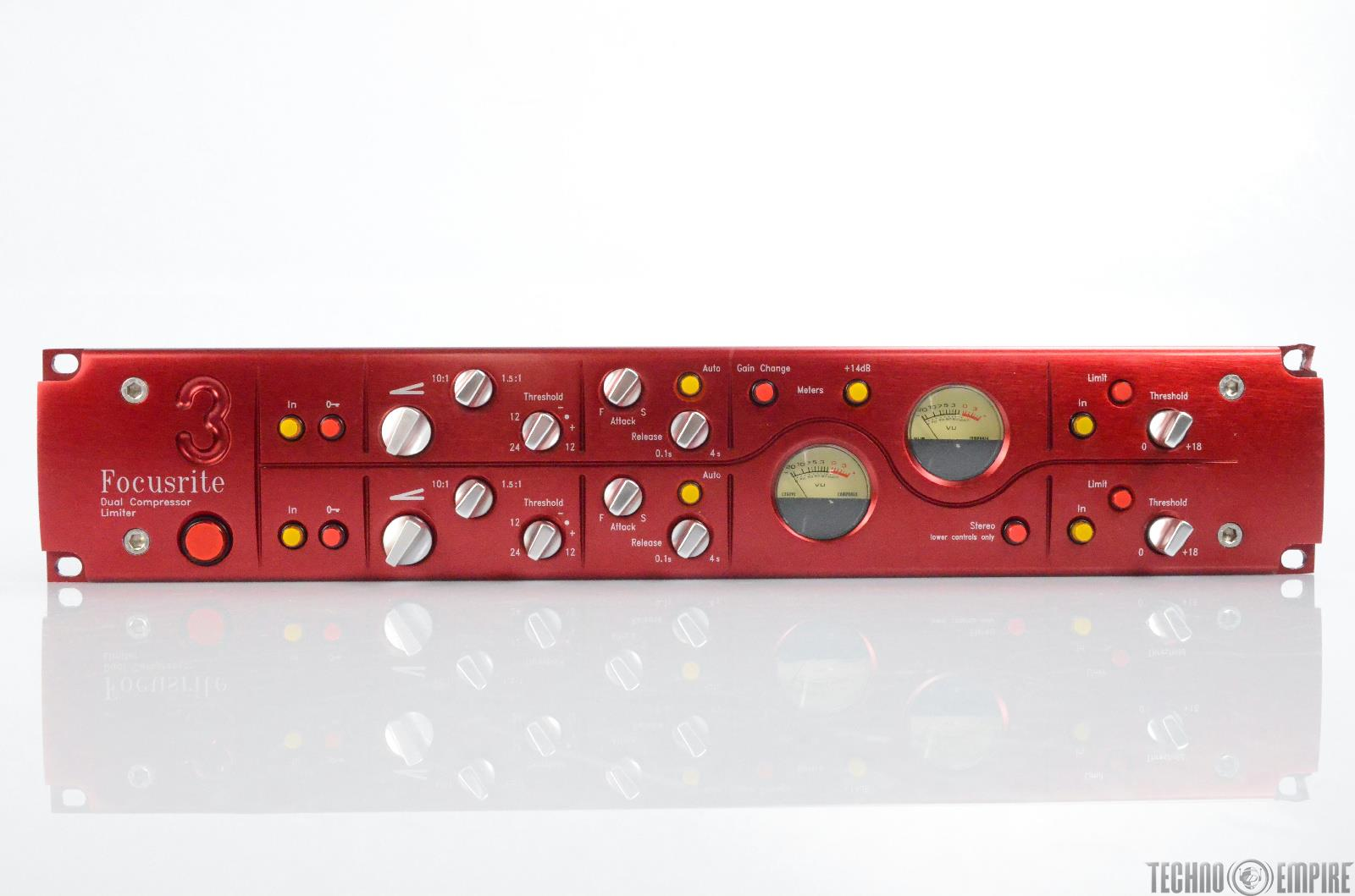 Focusrite Red 3 Dual Compressor Limiter Stereo #30322