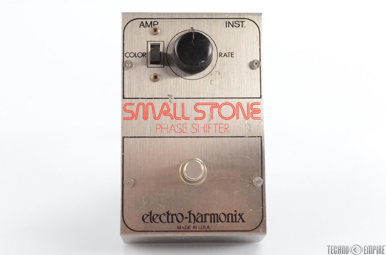 Electro-Harmonix V1 Small Stone Phase Shifter Pedal Owned by Matt Hyde #30211