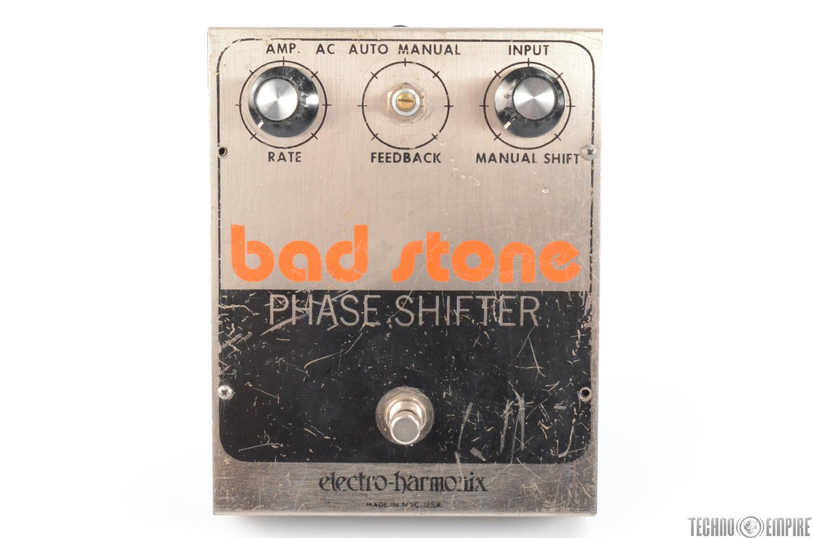 Vintage Electro-Harmonix Bad Stone Phase Shifter Pedal Owned by Matt Hyde #30143