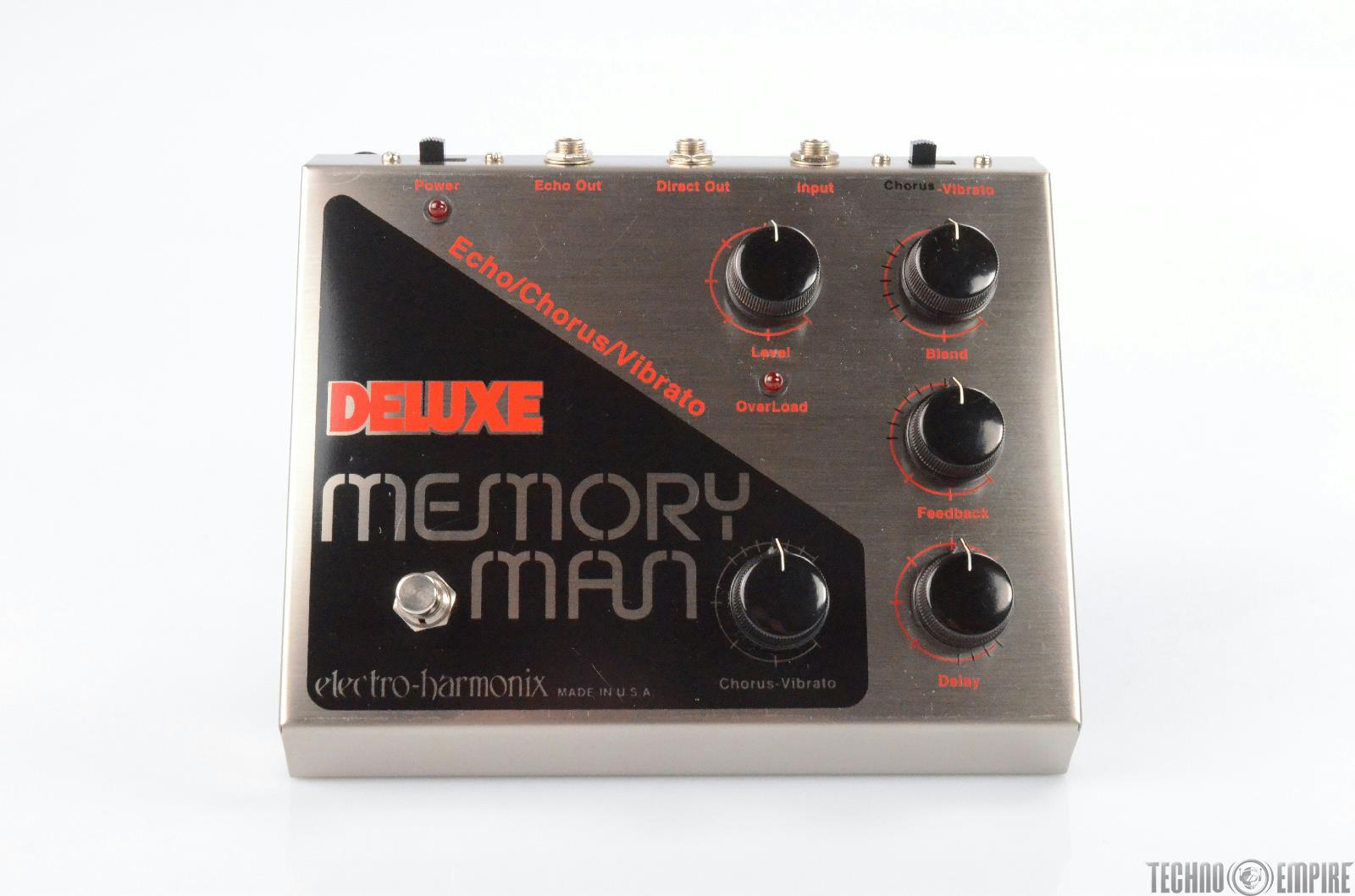 Electro-Harmonix Deluxe Memory Man Delay Pedal w/ Box Owned by Matt Hyde #30239