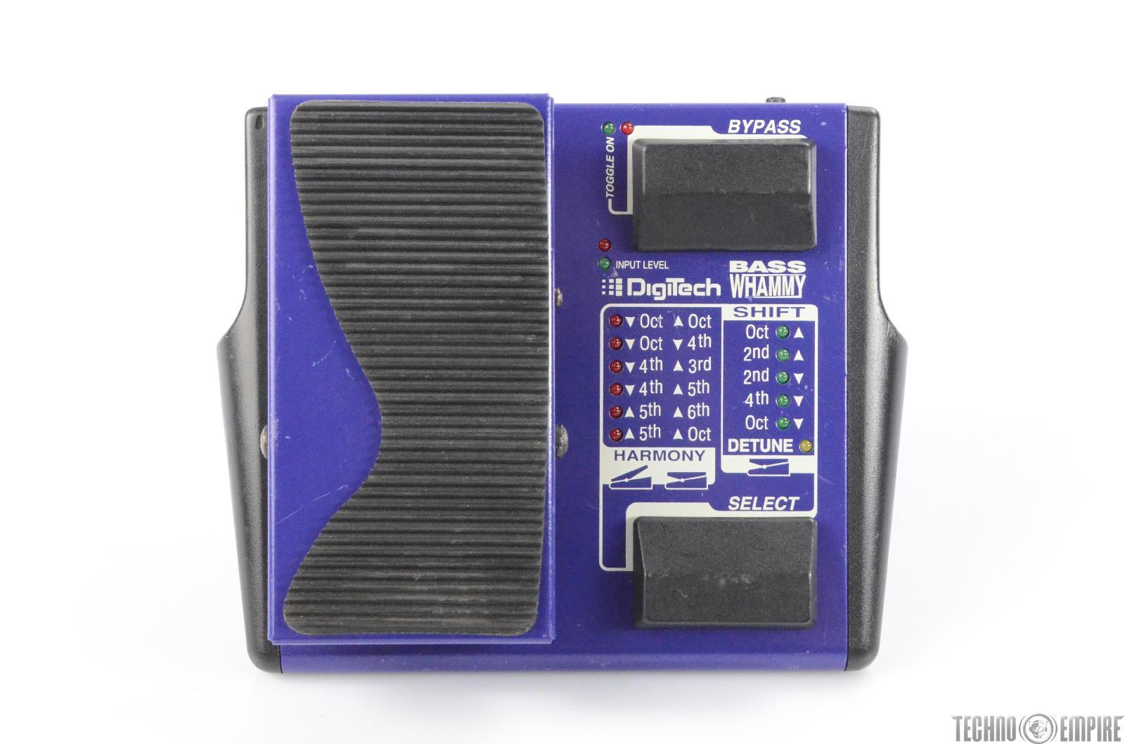 1990's Digitech Bass Whammy Wah Octave Effect Pedal Owned by Matt Hyde #30195