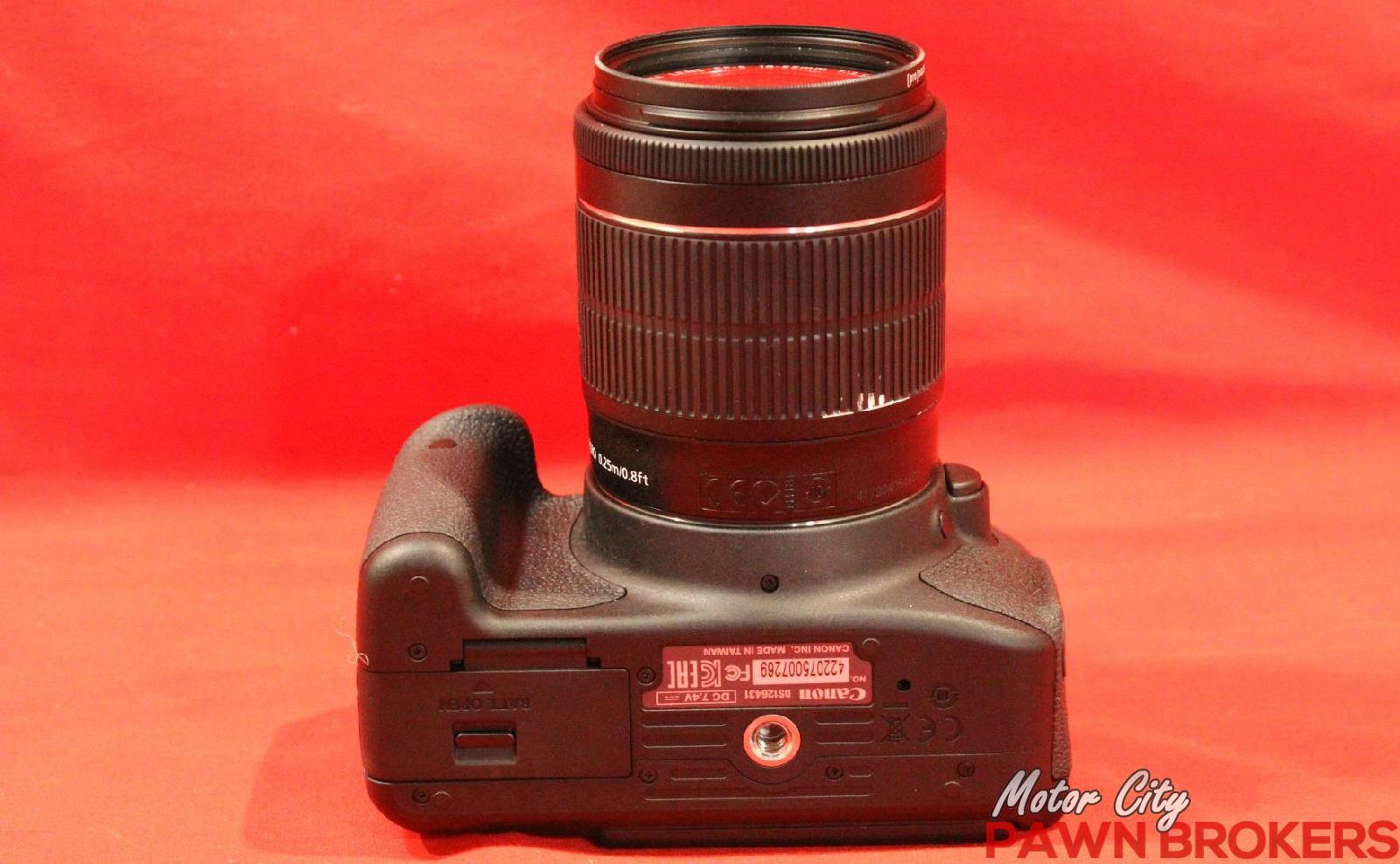 Canon DS126431 EOS Rebel Ti5 18MP 1855mm Digital SLR Camera