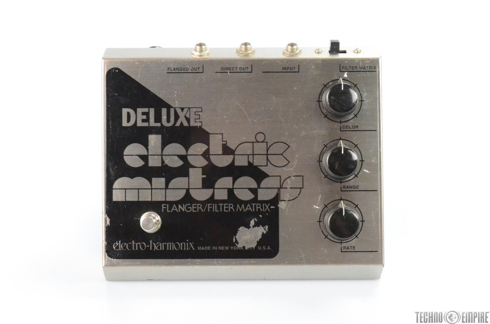 Electro-Harmonix Electric Mistress Flanger Pedal Owned by Matt Hyde #30147