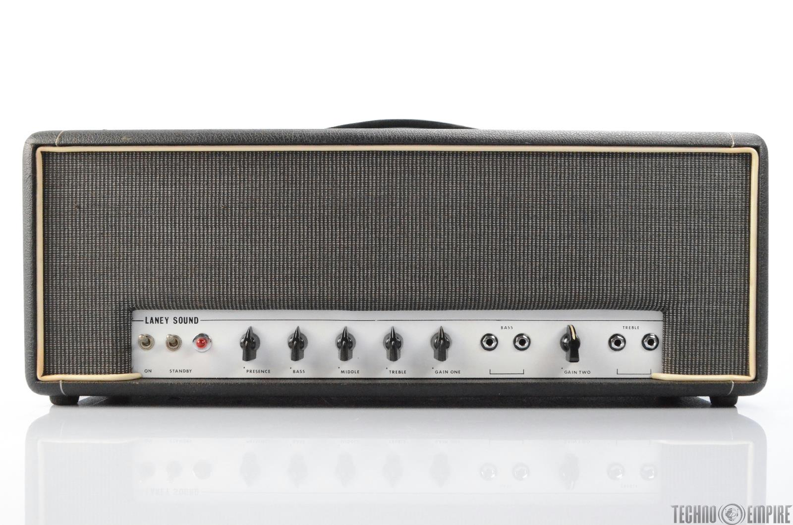 Laney Supergroup 60 Tube Amplifier Guitar Head Amp Owned by Matt Hyde #30040
