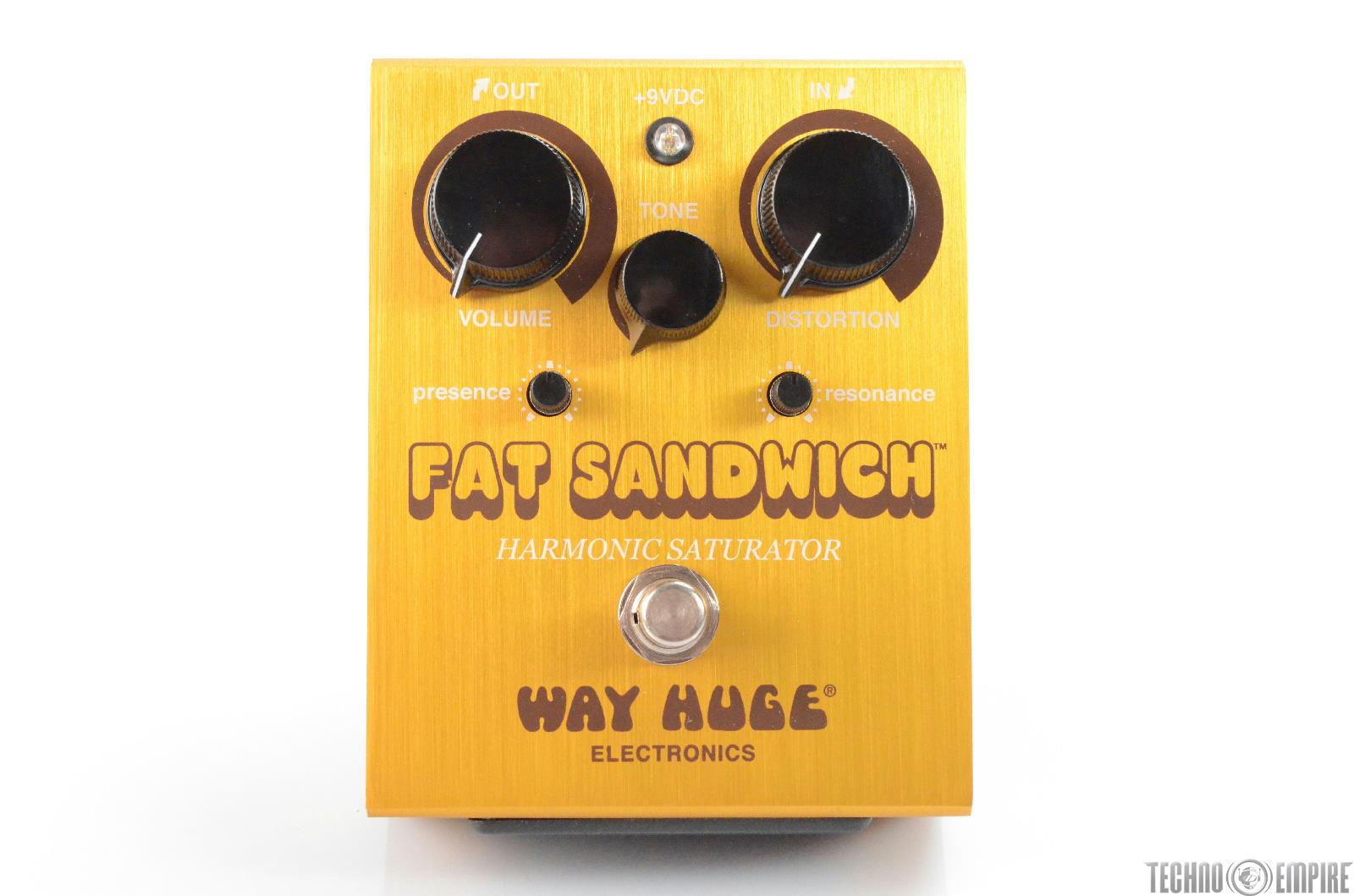 Way Huge Fat Sandwich WHE-301 Distortion Pedal w/ Box Owned by Matt Hyde #30144