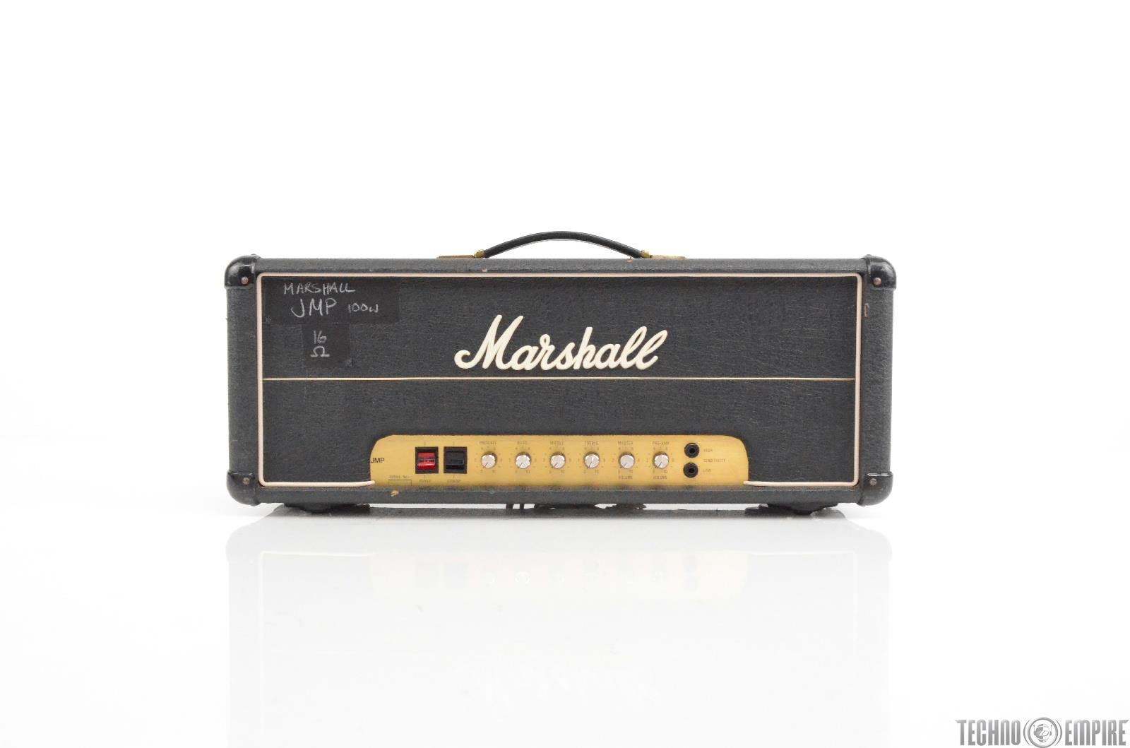 Marshall JMP MK2 2203 Master 100W Lead Guitar Amp Head Owned by Matt Hyde #29999