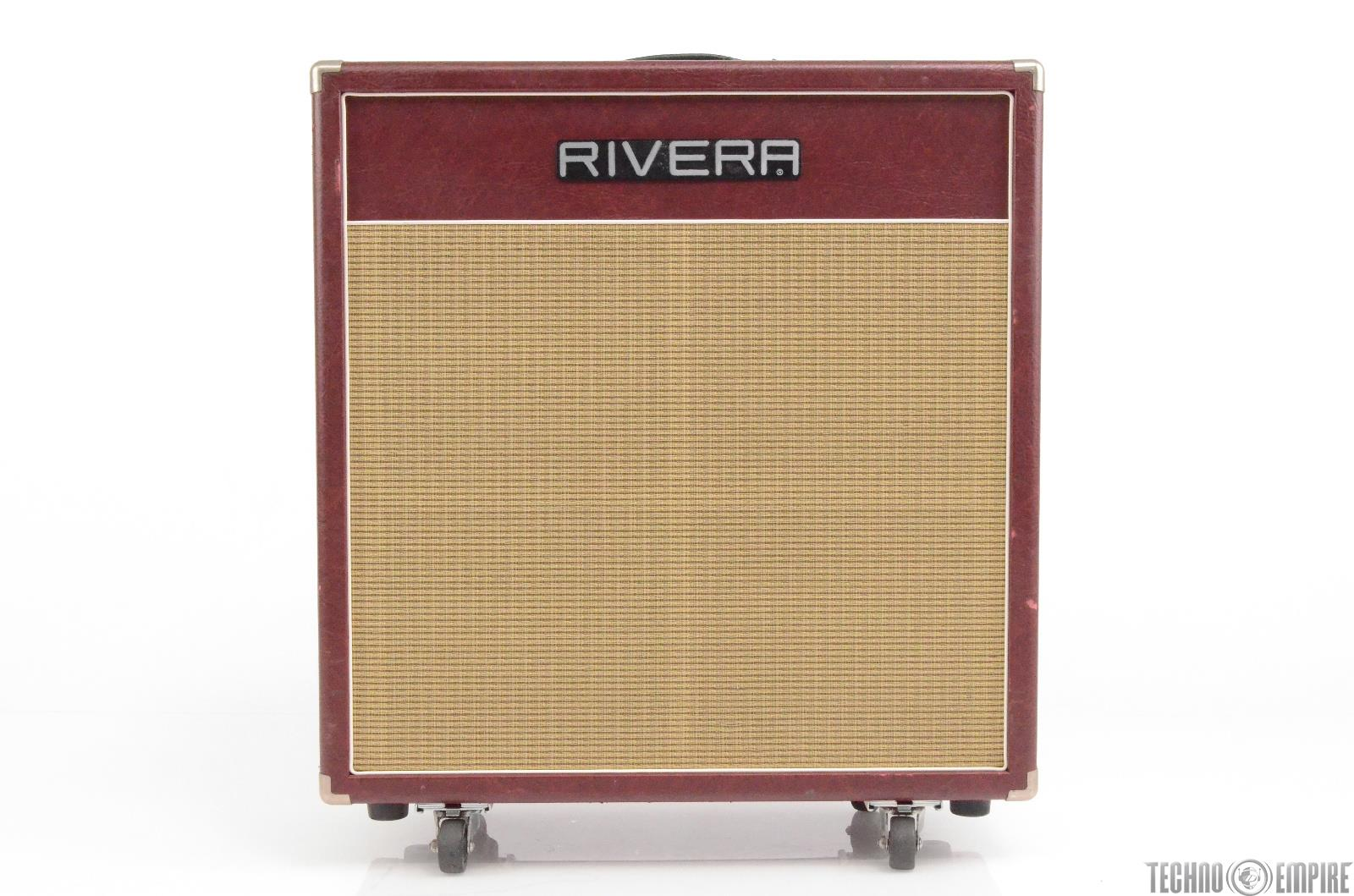 Rivera Quiana 4x10 Tube Guitar Combo Amp Burgundy Owned Matt Hyde #30042