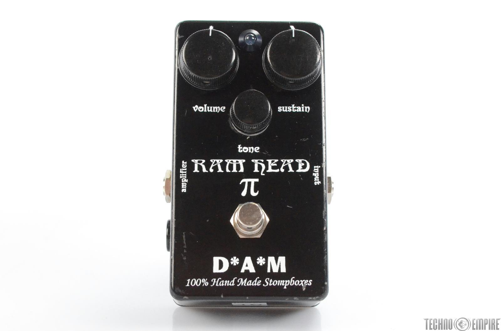 D*A*M Ram Head PI Handmade Big Muff Clone Pedal Owned by Matt Hyde #30087
