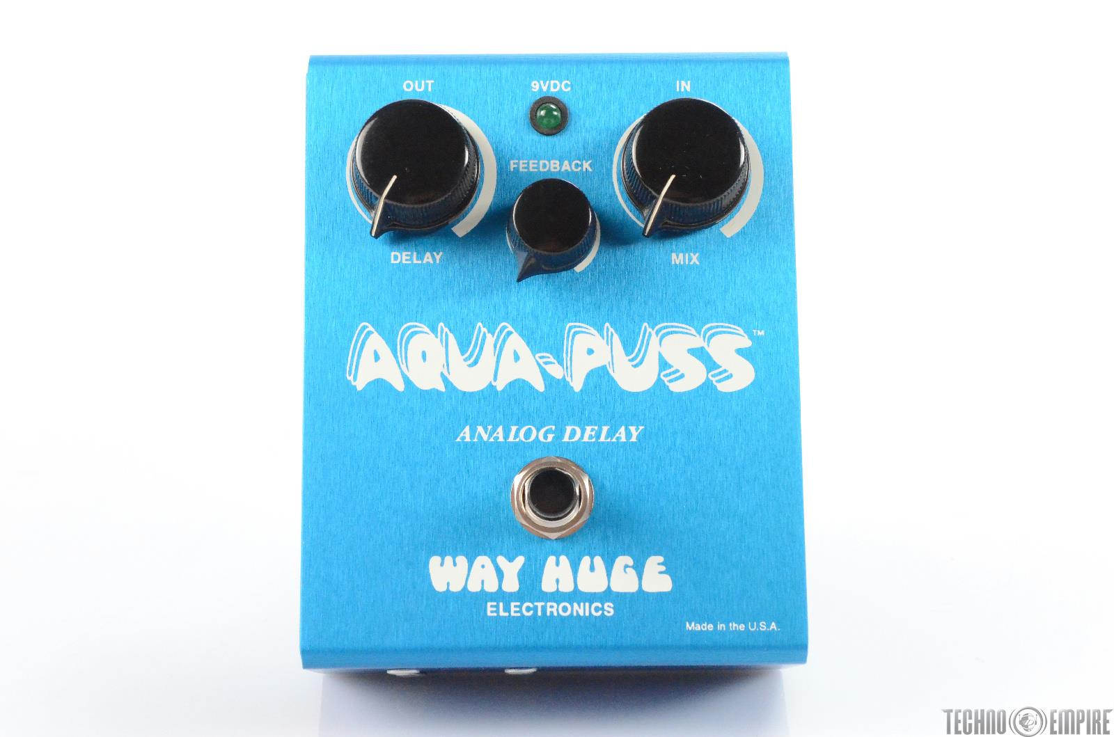Way Huge AP-2 Aqua Puss Analog Delay Guitar Pedal Owned by Matt Hyde #30169