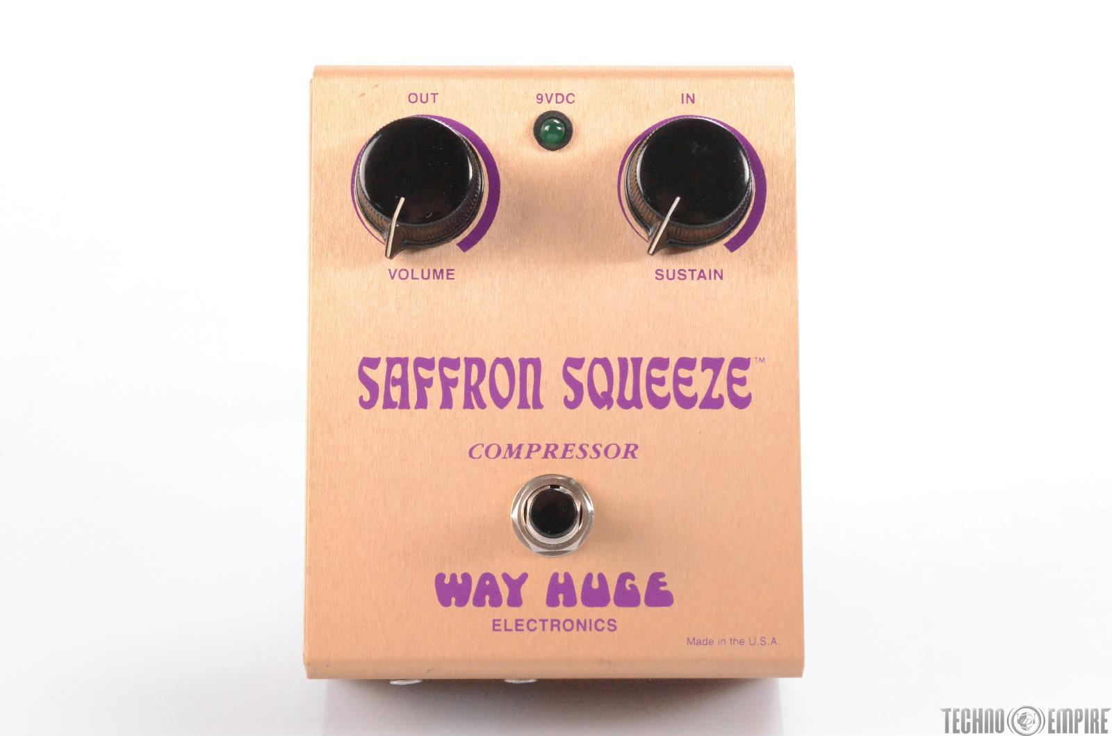 Way Huge Electronics SQ-1 Saffron Squeeze MKI Pedal Owned by Matt Hyde #30132