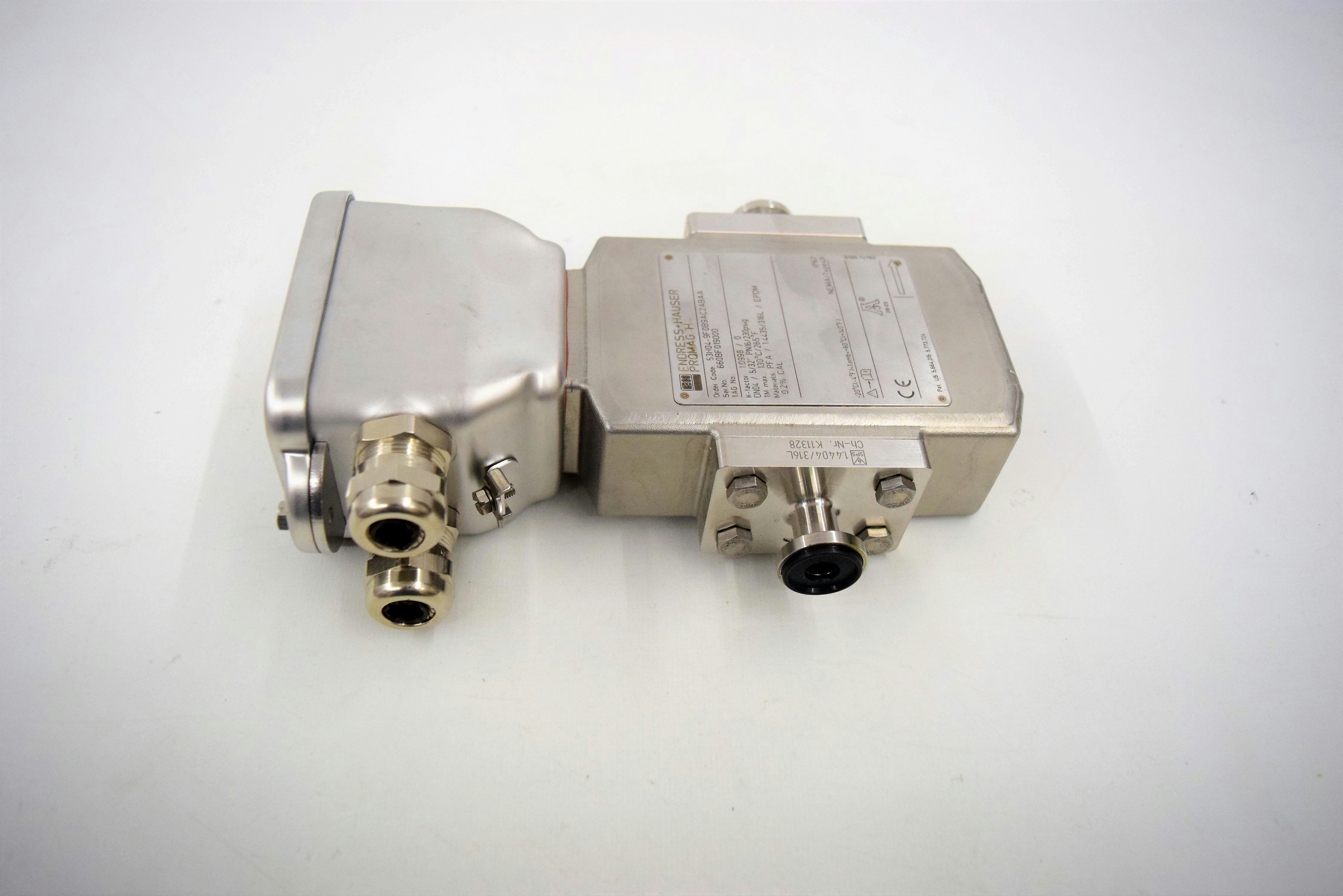 Details about Endress Hauser Promag H Flow Meter 53H04-9F0B9AC2ABAA f/  Amersham System