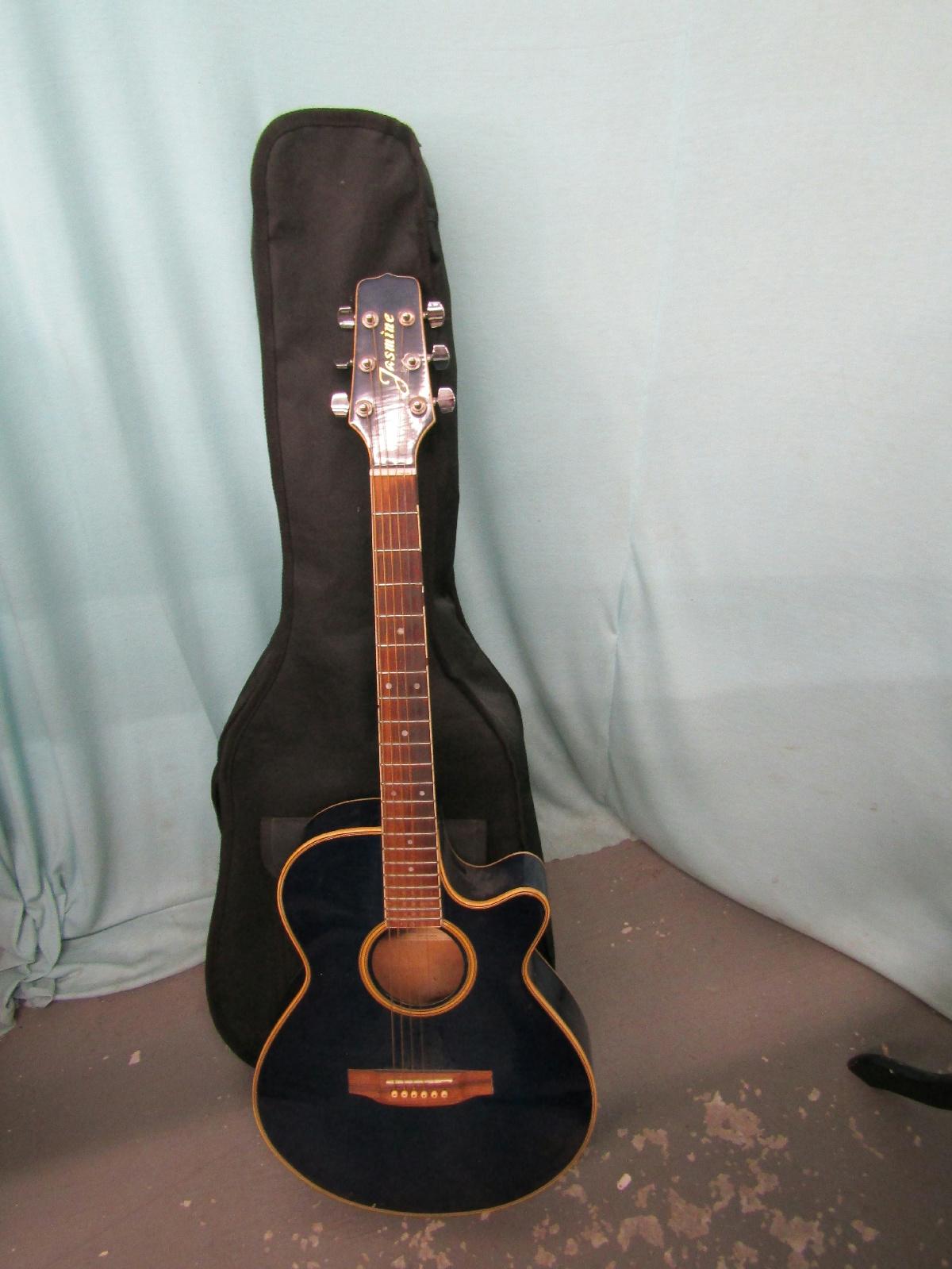 jasmine by takamine es98c blue cutaway acoustic electric. Black Bedroom Furniture Sets. Home Design Ideas