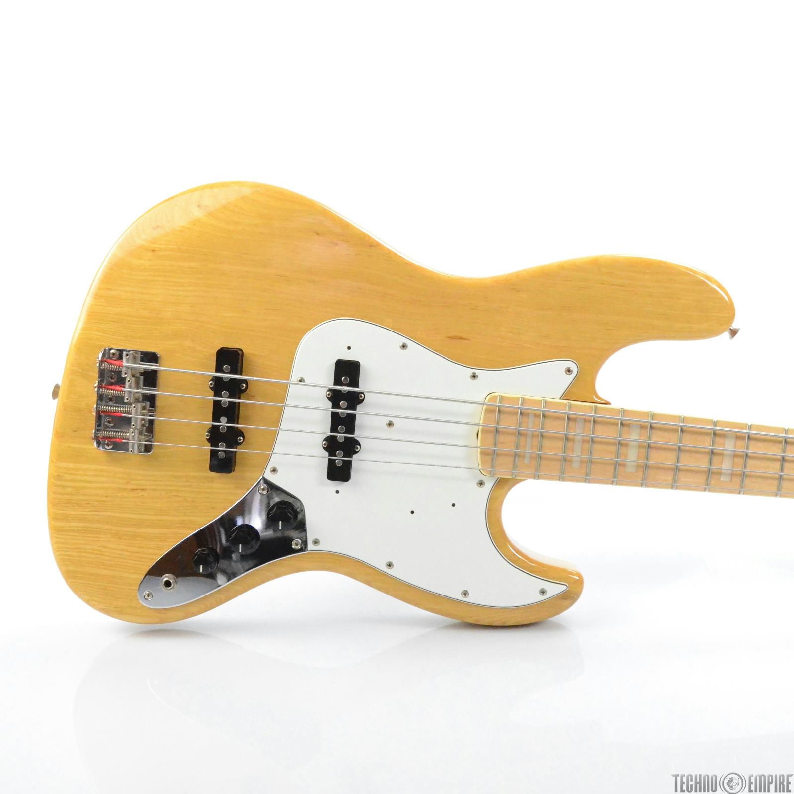Fender Jazz Bass Natural Series w/ Hard Case Japan Owned by Matt Hyde #30019