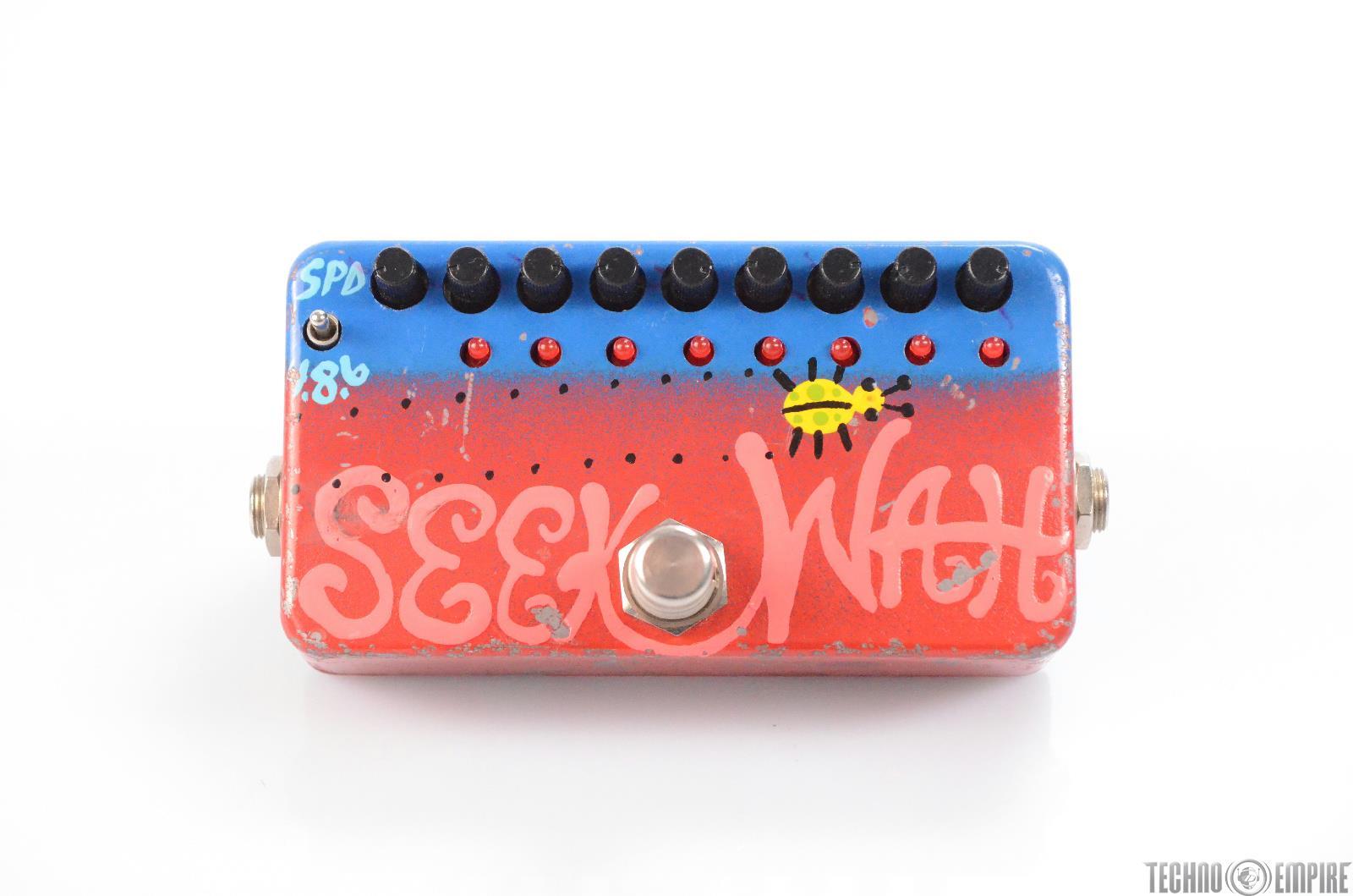Zvex Seek Wah Effect Guitar Pedal Owned by Matt Hyde #30152