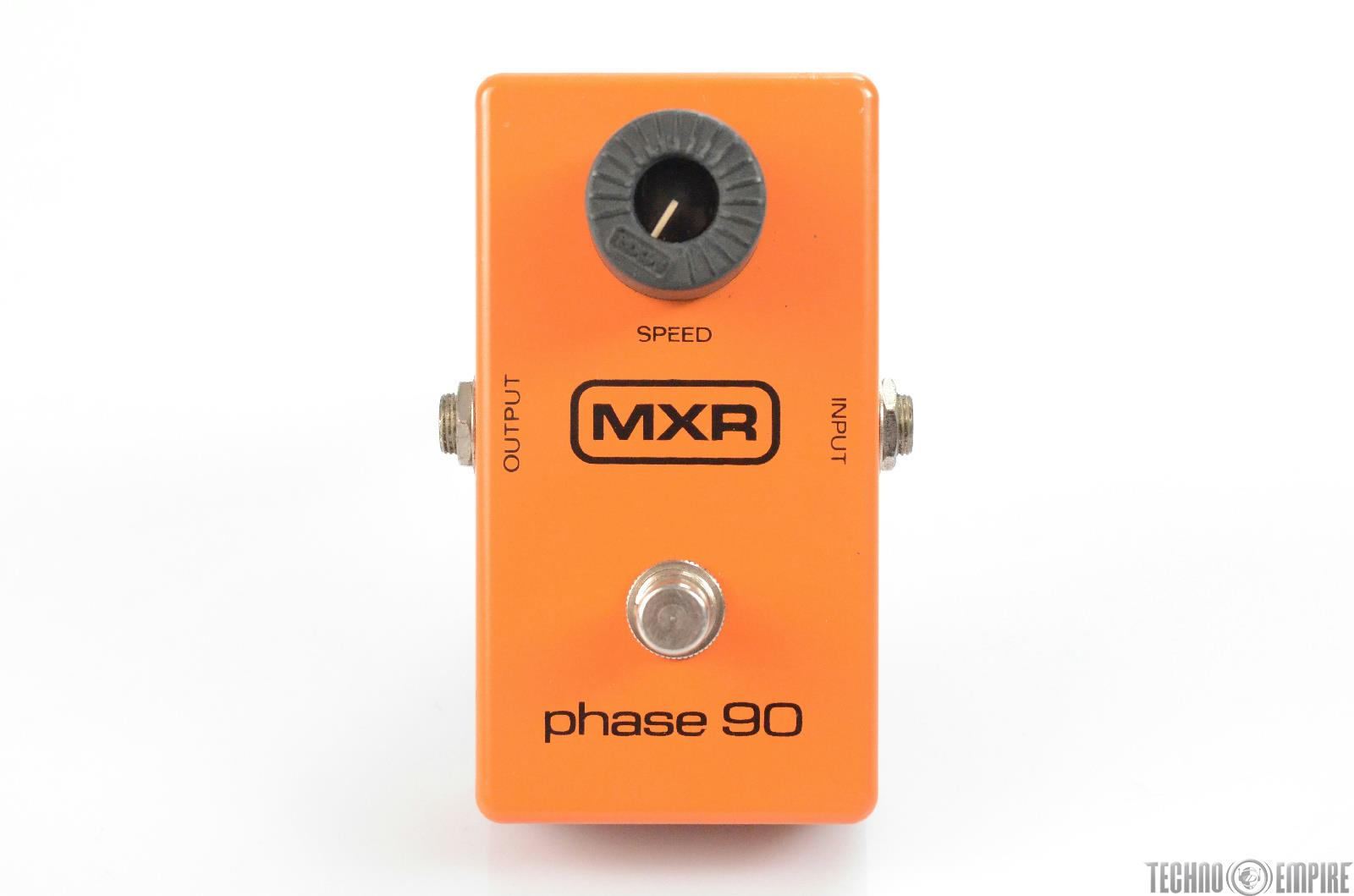 MXR Phase 90 Phaser Effect Guitar Pedal w/ Box Owned by Matt Hyde #30168