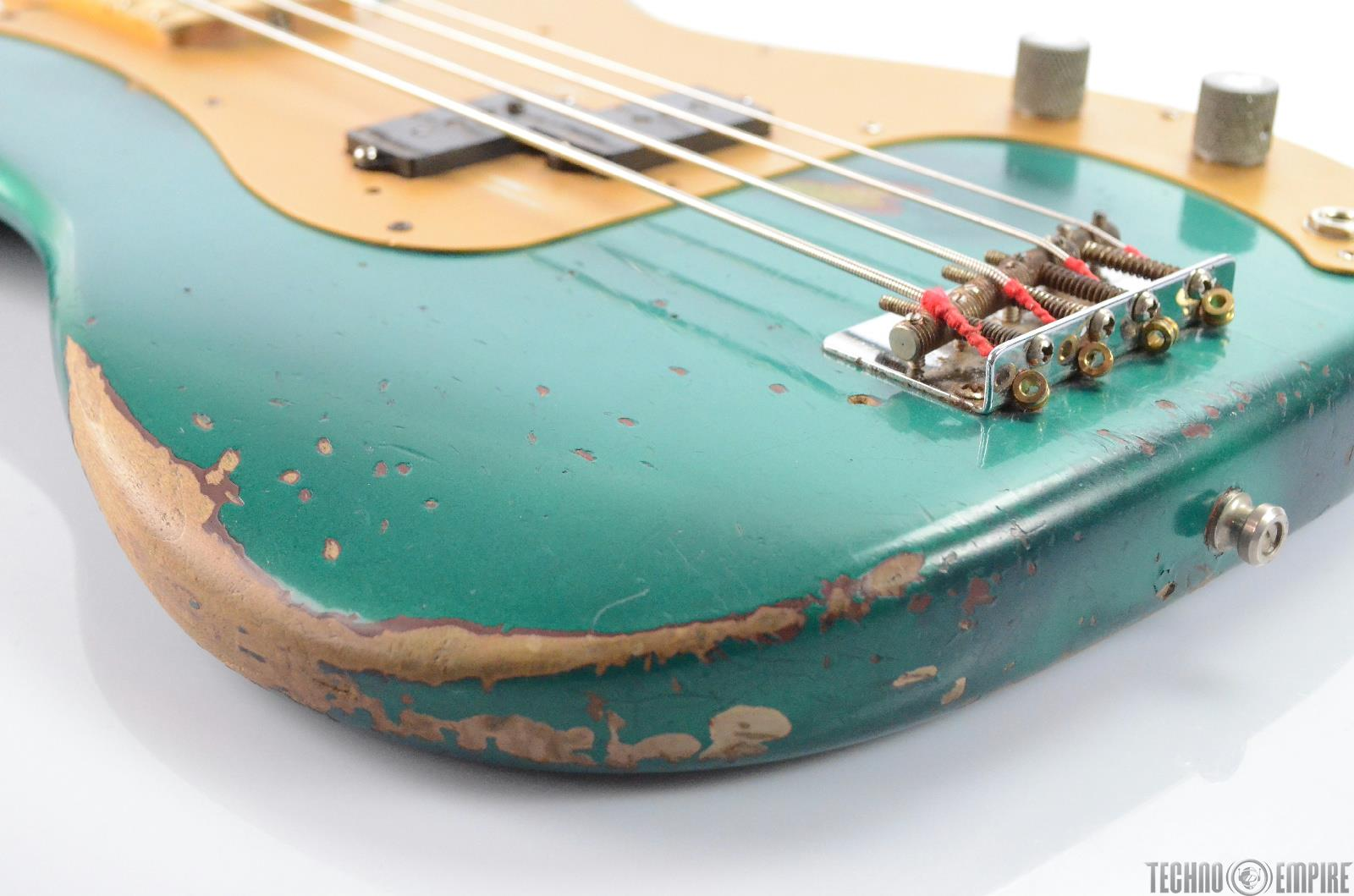 1958 Fender Precision P Bass Guitar w/ Case American Owned by Matt ...