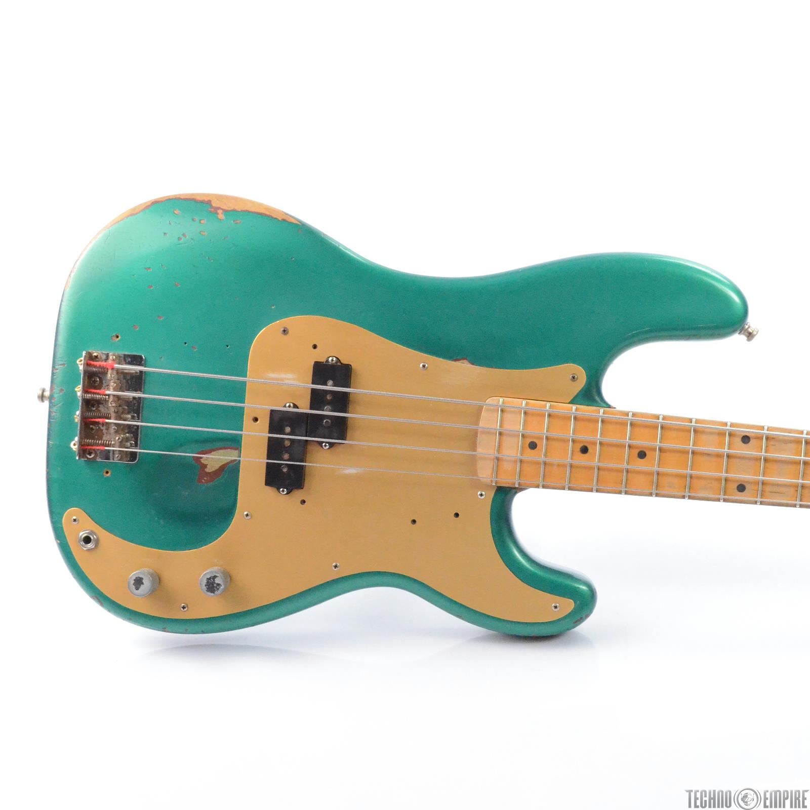 1958 Fender American Precision P Bass Guitar w/ Case Owned by Matt Hyde #30349