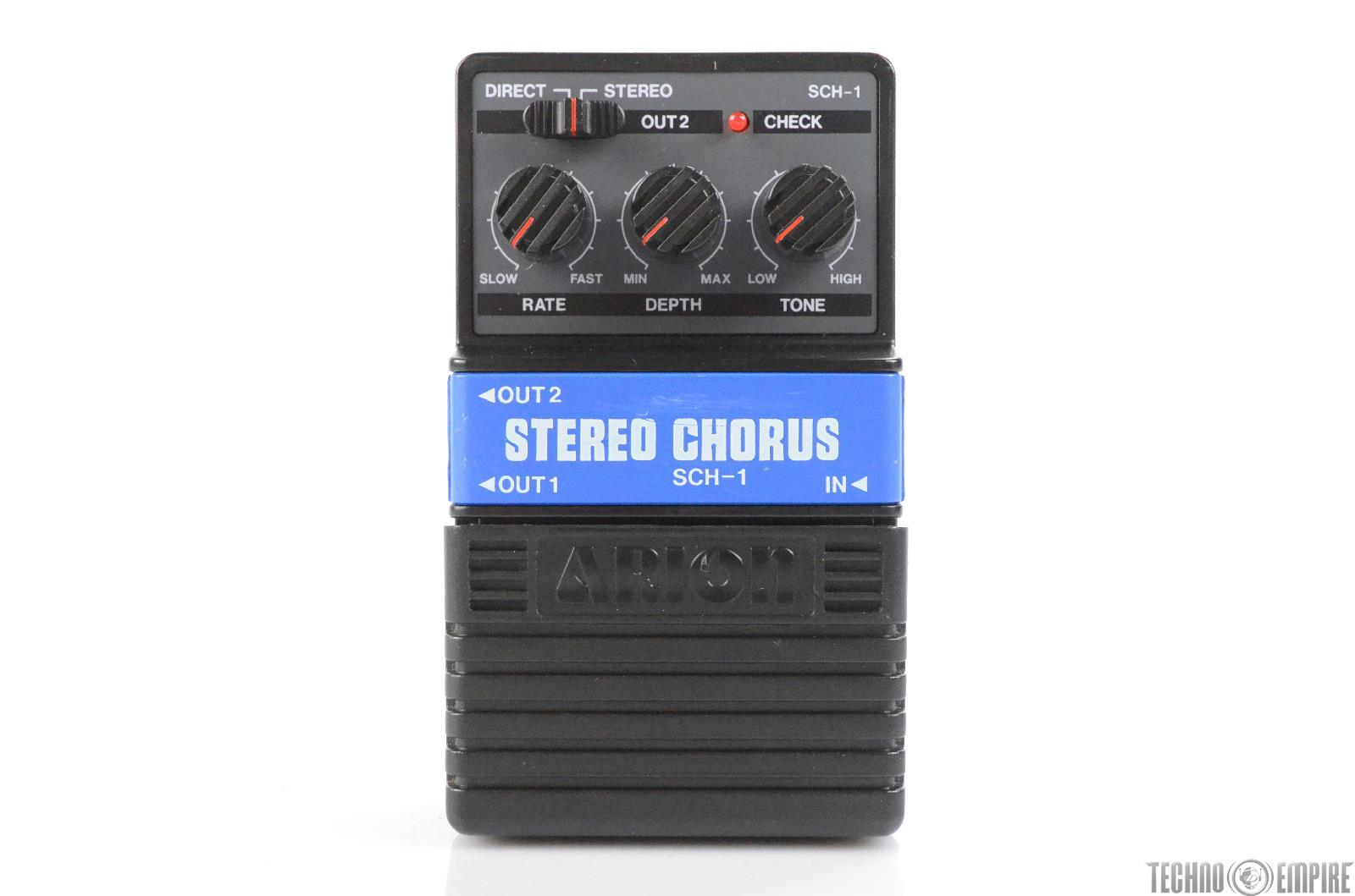 Arion SCH-1 Stereo Chorus Effect Guitar Pedal Owned by Matt Hyde #30151