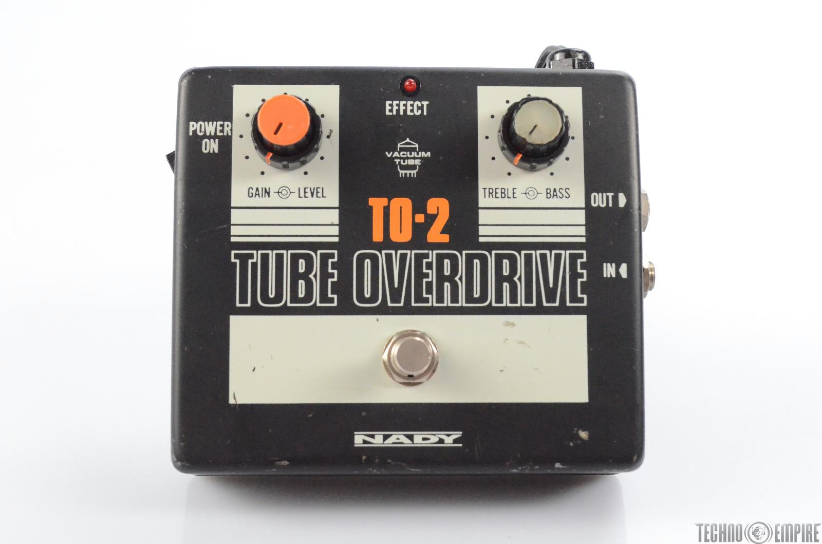 Nady TO-2 Tube Overdrive Electric Guitar Pedal Owned by Matt Hyde #30112