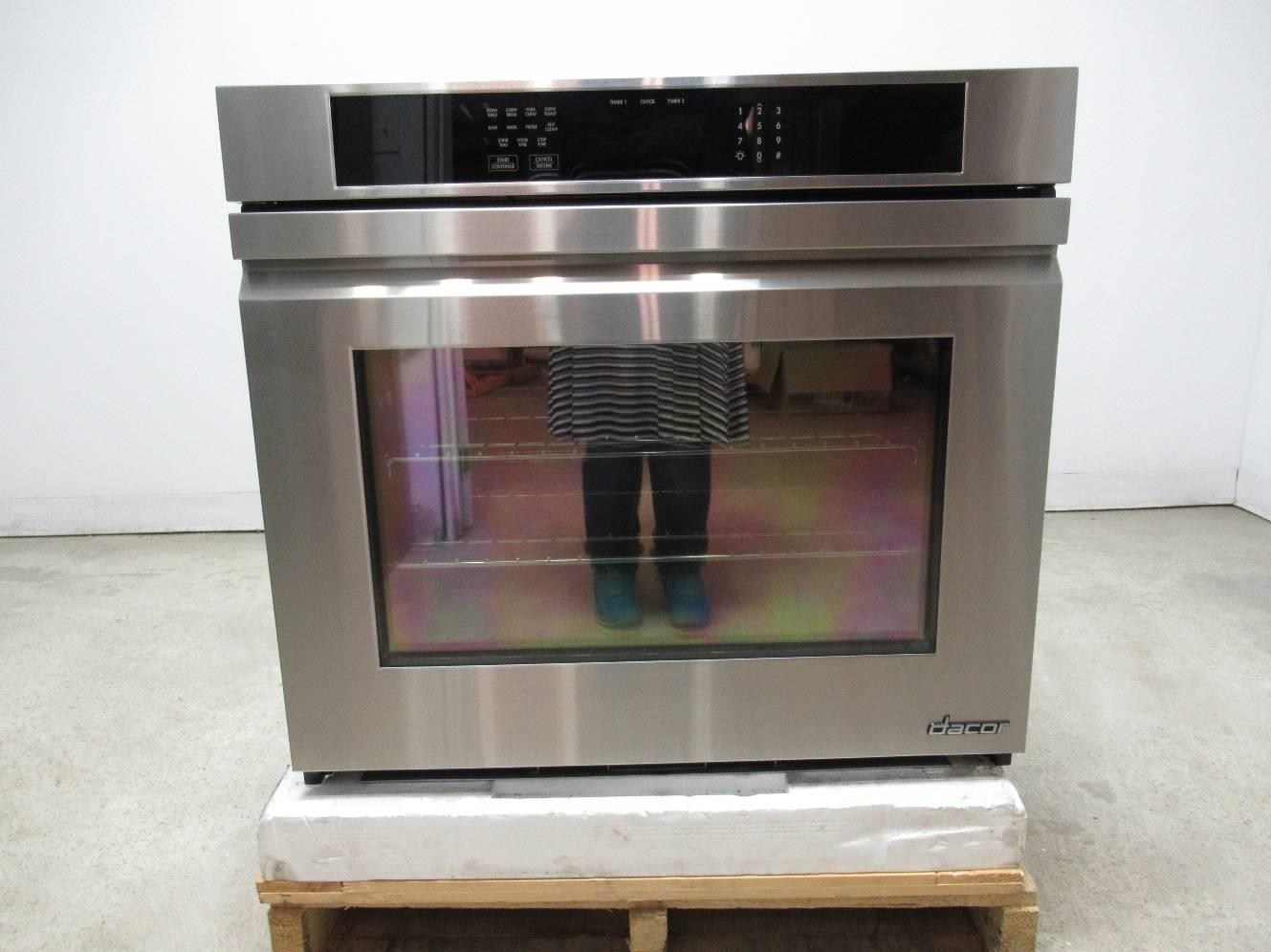 Dacor Distinctive Dto130s 30 48 Cu Ft Convection Single Electric Wall Oven Wiring Diagram Ss