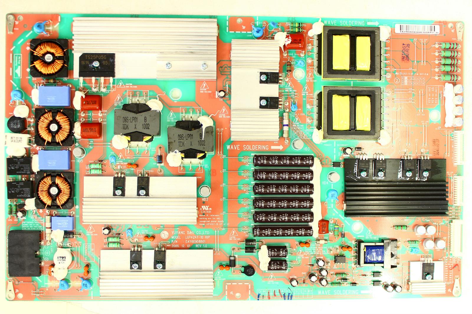 LG 55LE5300 POWER BOARD EAY60908801