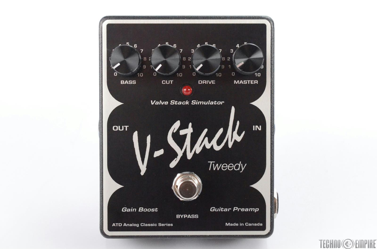 ATD V-Stack Tweedy Gain Booster Guitar Preamp Pedal Owned by Matt Hyde #30173