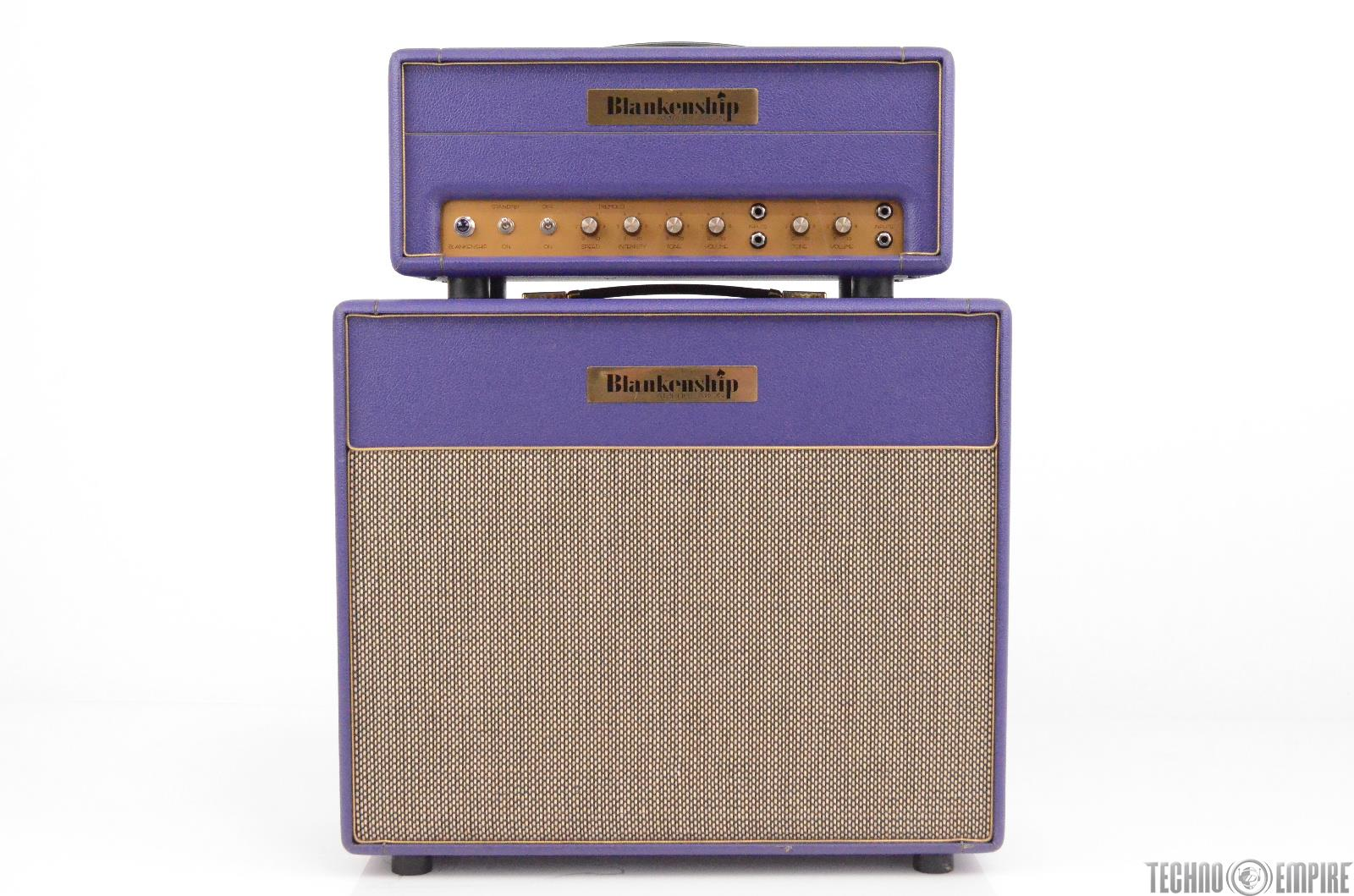 Blankenship Leeds 21 Mini Head & 1x12 Cab Purple Owned by Matt Hyde #30223