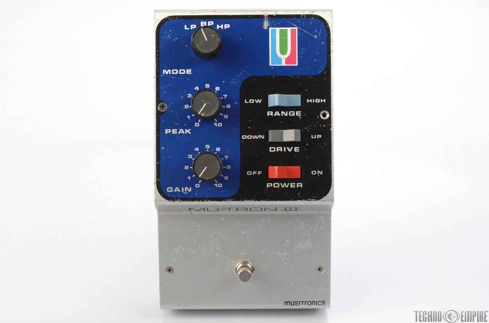 Musitronics Mu-Tron III Envelope Filter Effects Pedal Owned by Matt Hyde #30076