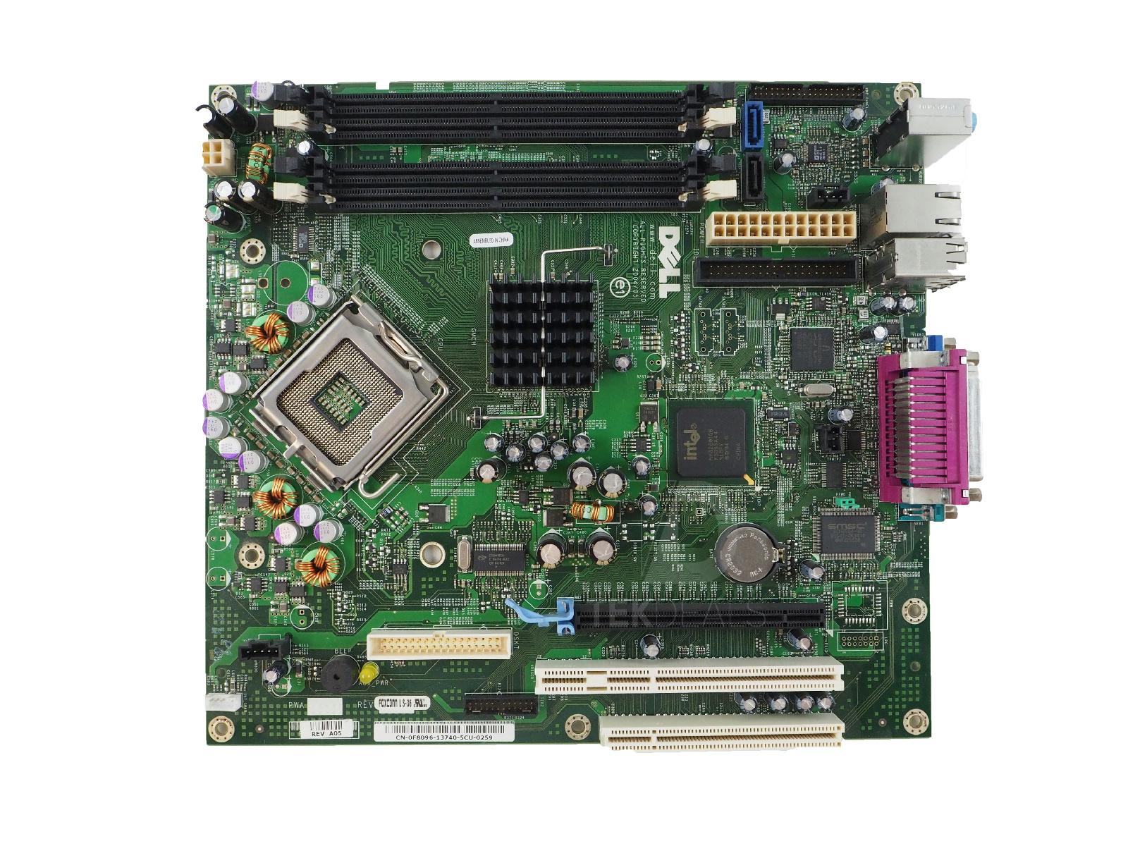 dell f8096 optiplex gx620 desktop system motherboard 5711045166679 rh ebay com Dell Support Optiplex GX620 Dell Optiplex 745 Motherboard Manual