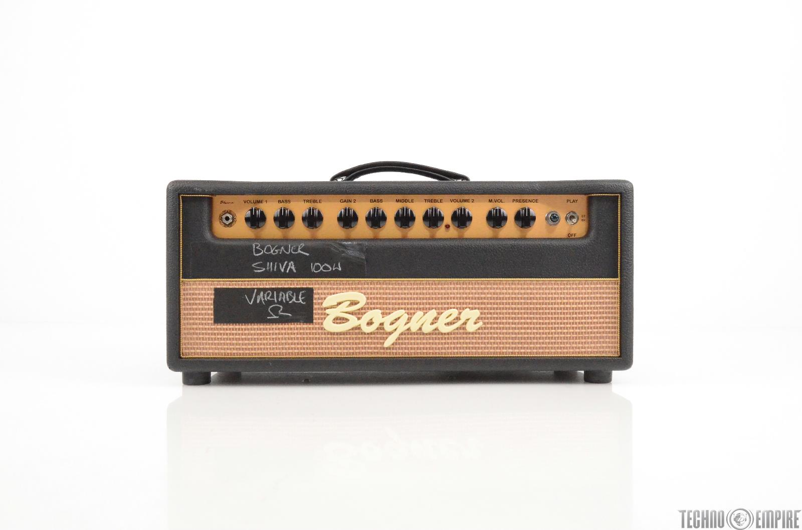 Bogner Shiva 80W Guitar Amplifier Head Owned by Matt Hyde #29991