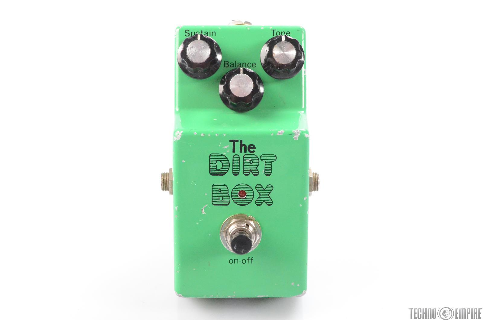 The Dirt Box Maxon Ibanez OD-855 Guitar Effects Pedal Owned by Matt Hyde #30078