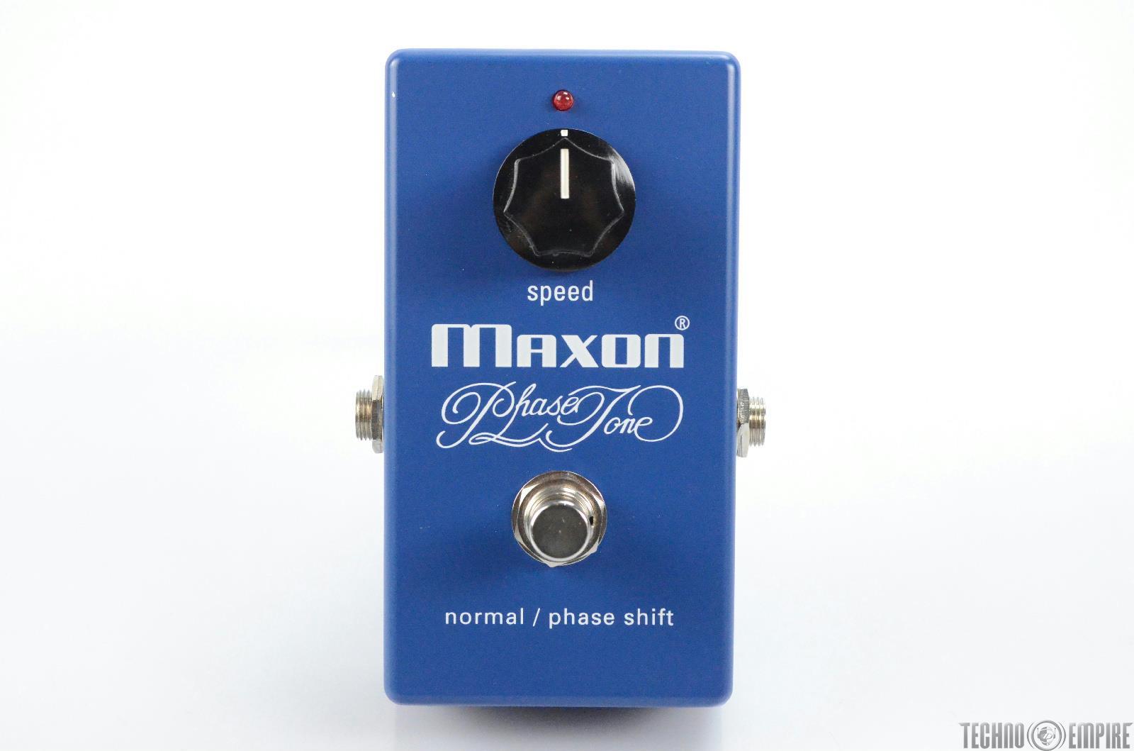 Maxon PT999 Phaser Tone Guitar Pedal w/ Box PT 999 Owned by Matt Hyde #30166