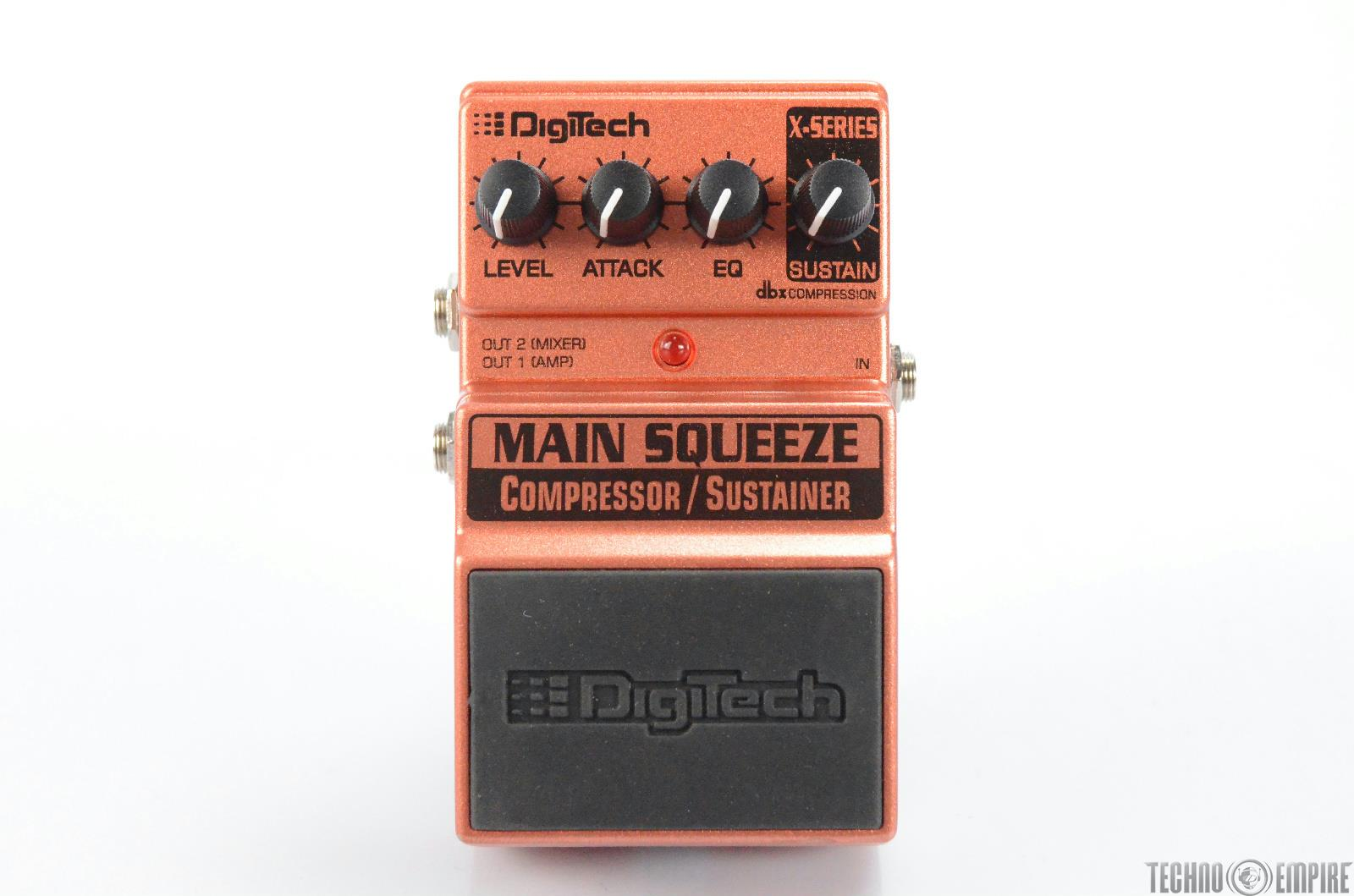 DigiTech XMS Main Squeeze Compressor/Sustainer Pedal Owned by Matt Hyde #30115
