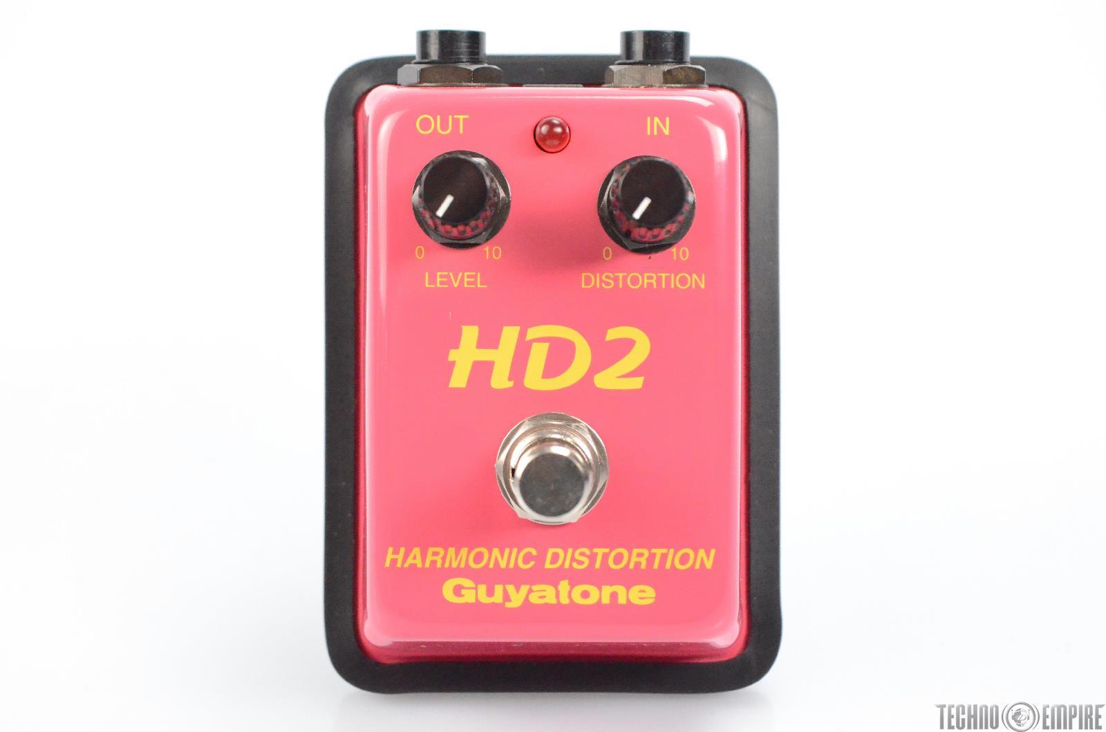 Guyatone HD2 Harmonic Distortion Pedal Stompbox w/ box Owned by Matt Hyde #30707