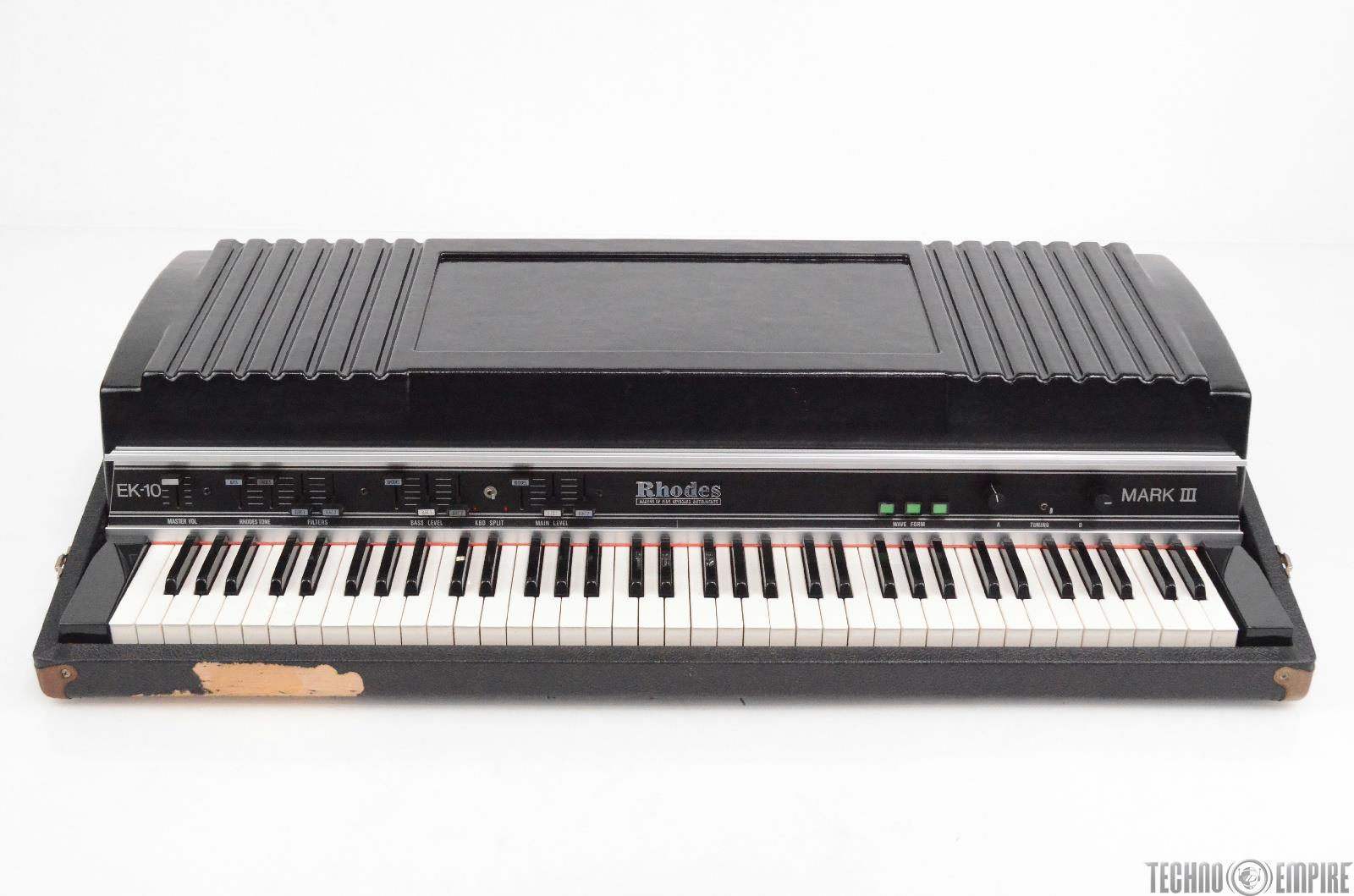 Fender Rhodes EK-10 Mark III Electric Piano Synthesizer EK10 #30039