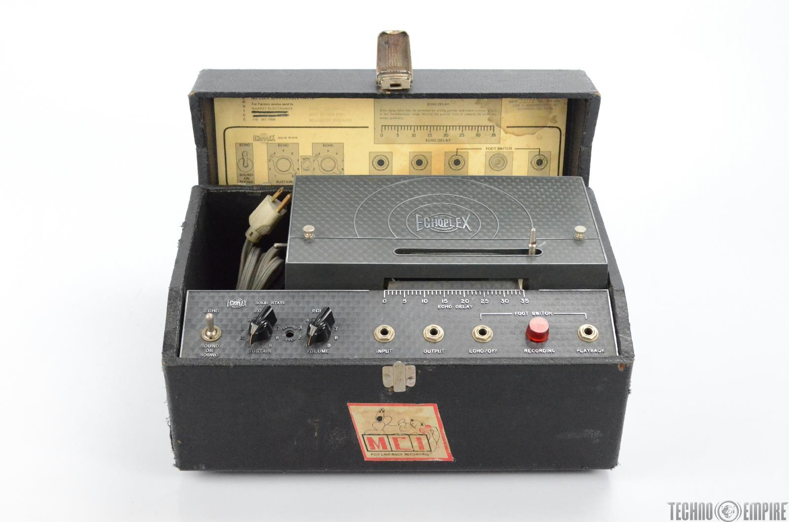 Maestro EchoPlex EP-3 Solid State Tape Delay EP3 Owned by Matt Hyde #30067